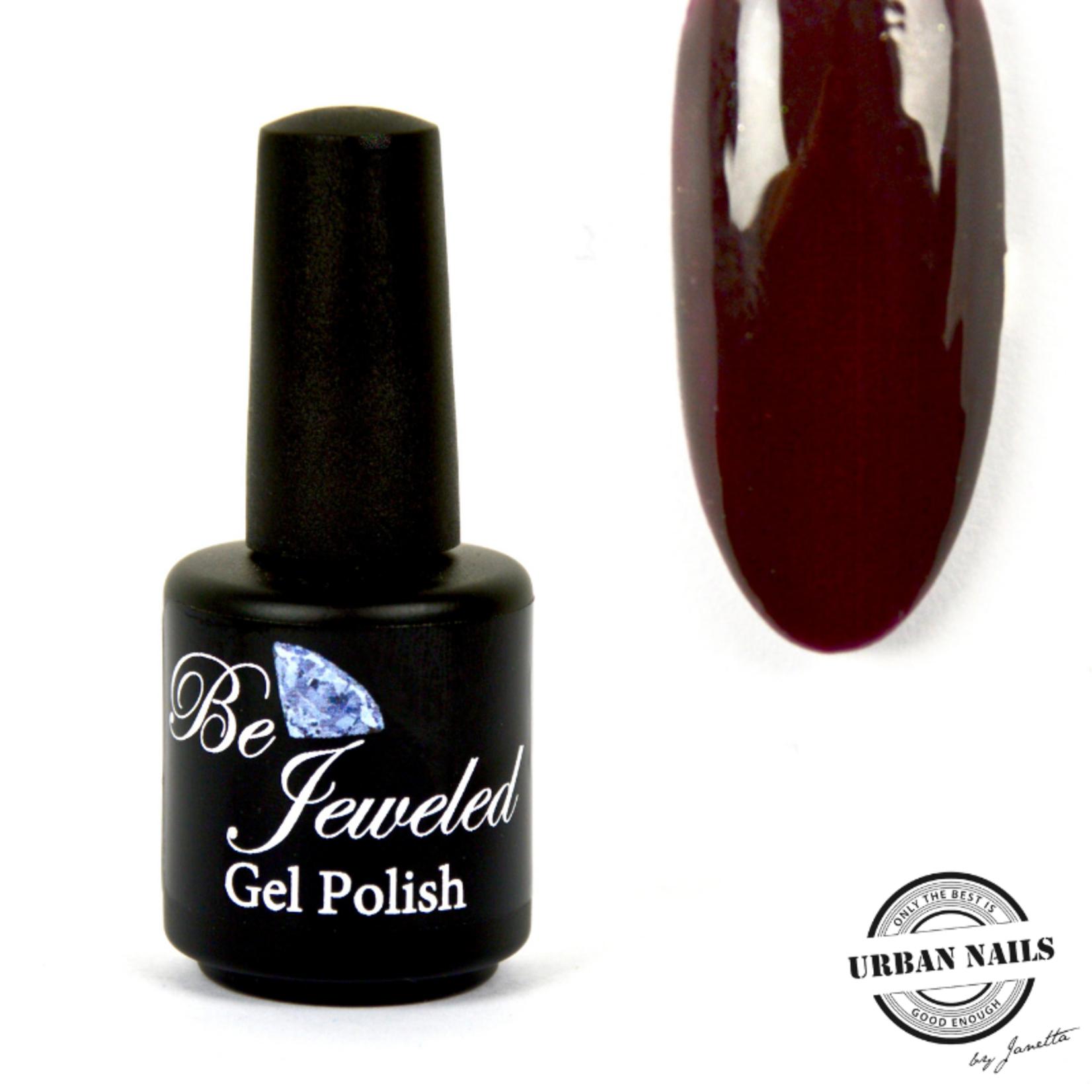 Urban Nails Be Jeweled Gelpolish 21 Donker Bruin Rood