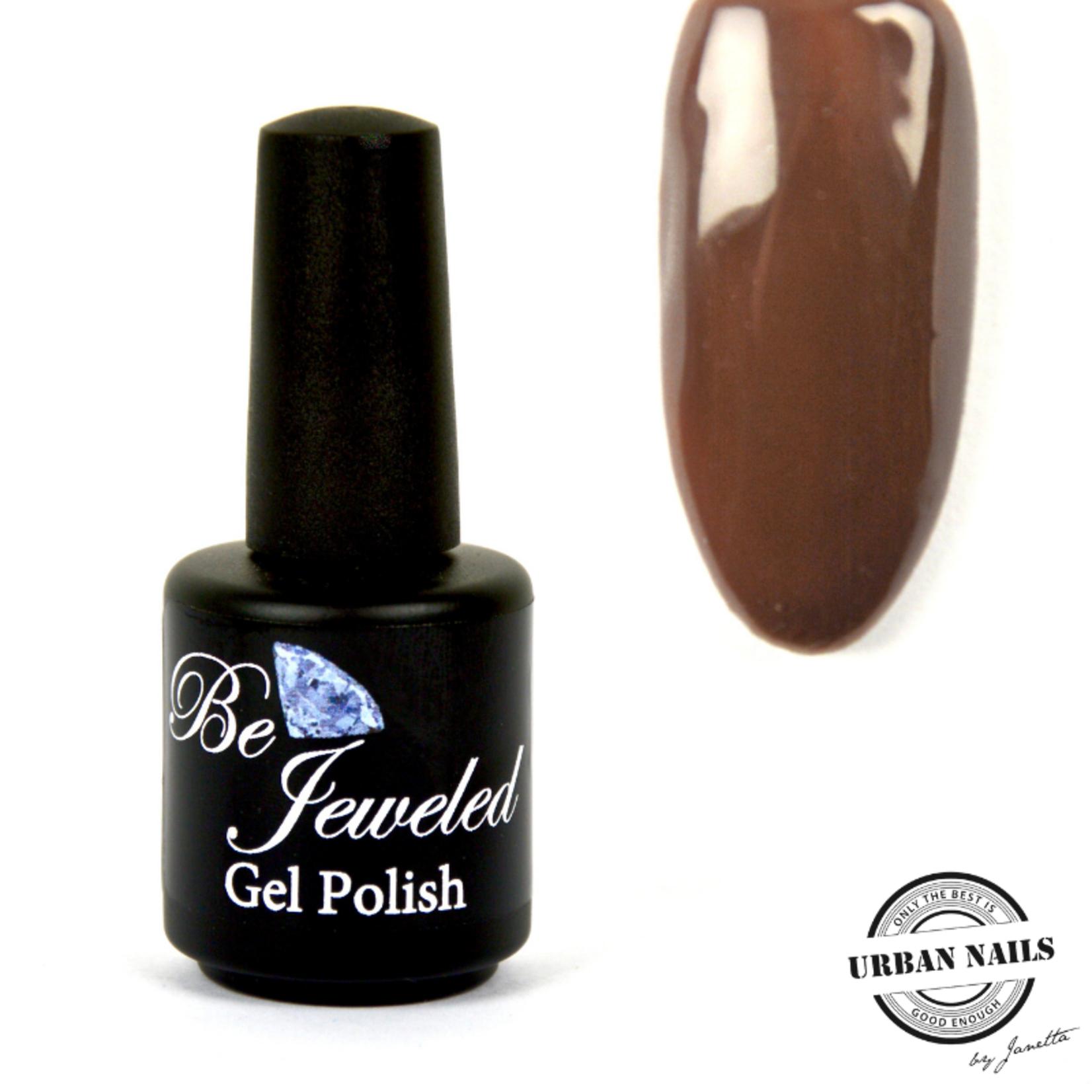 Urban Nails Be Jeweled Gelpolish 22 Donker Bruin