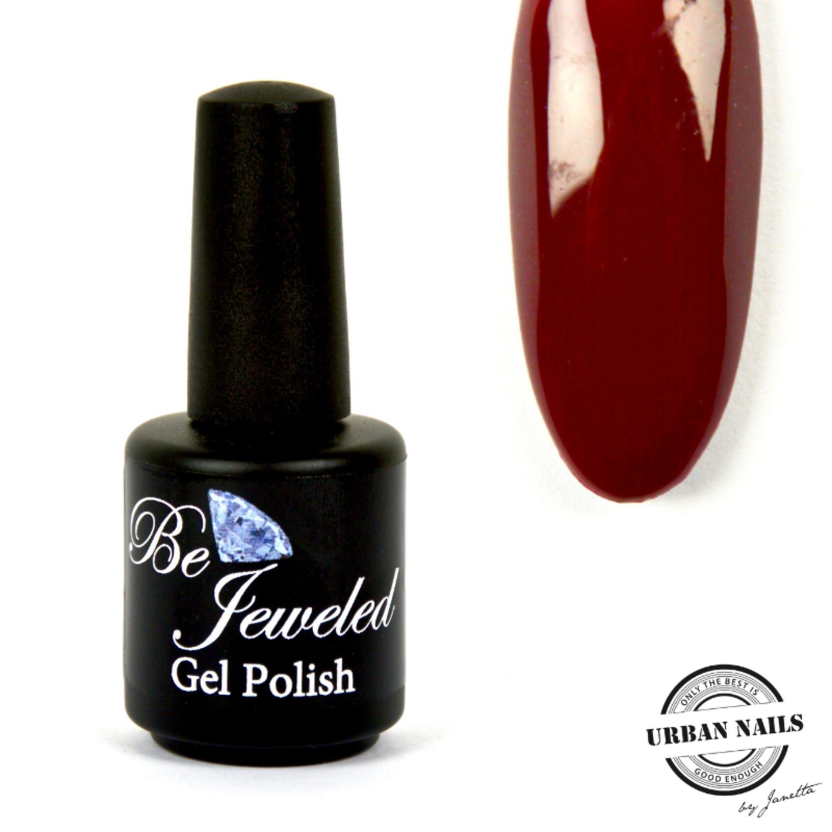 Urban Nails Be Jeweled Gelpolish 23 Bordeaux Rood