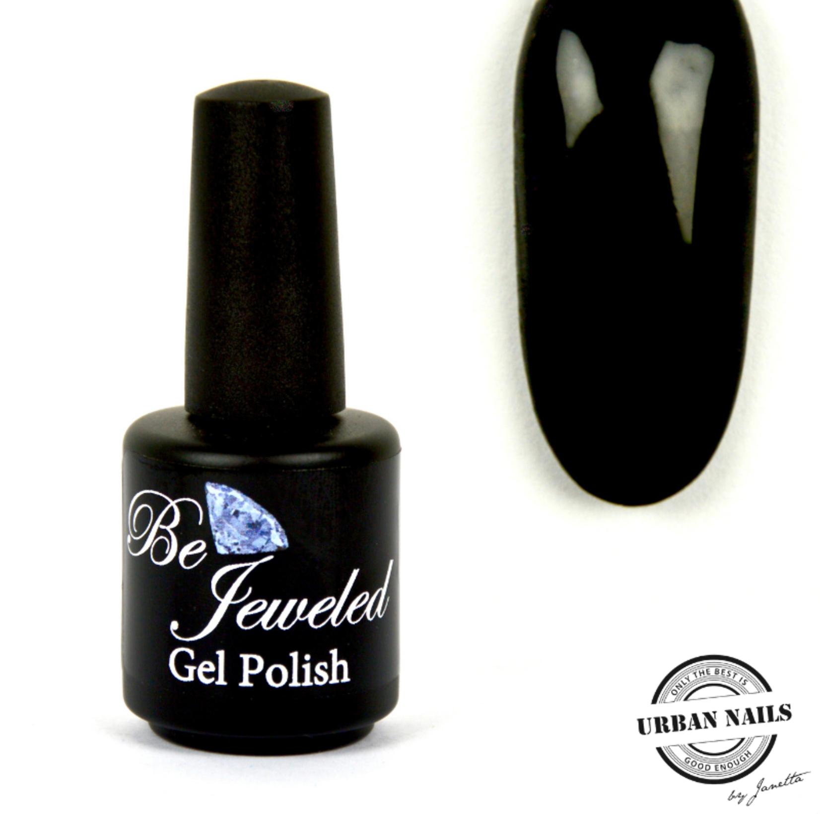 Urban Nails Be Jeweled Gelpolish 02 Zwart
