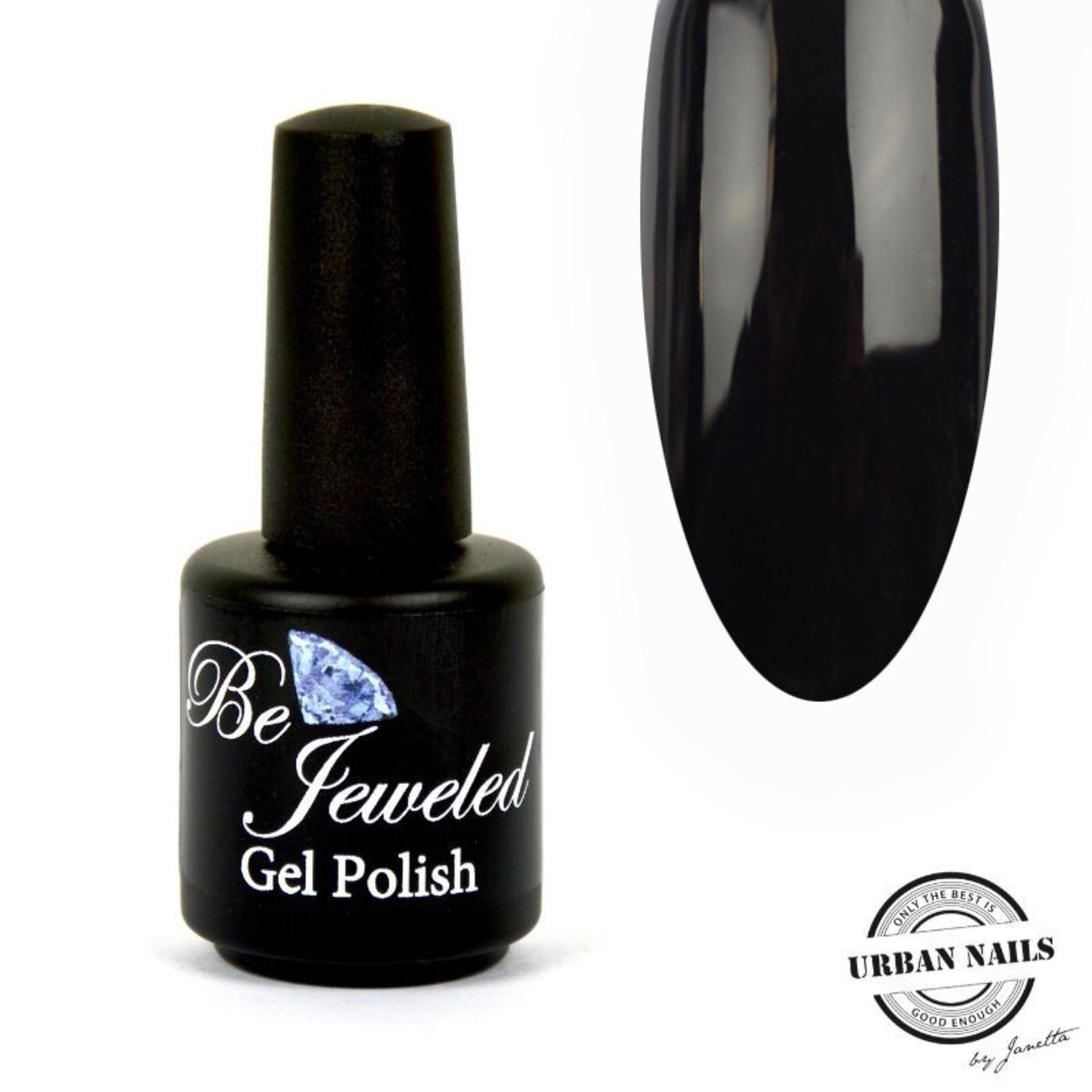 Urban Nails Be Jeweled Gelpolish 02B Zwart