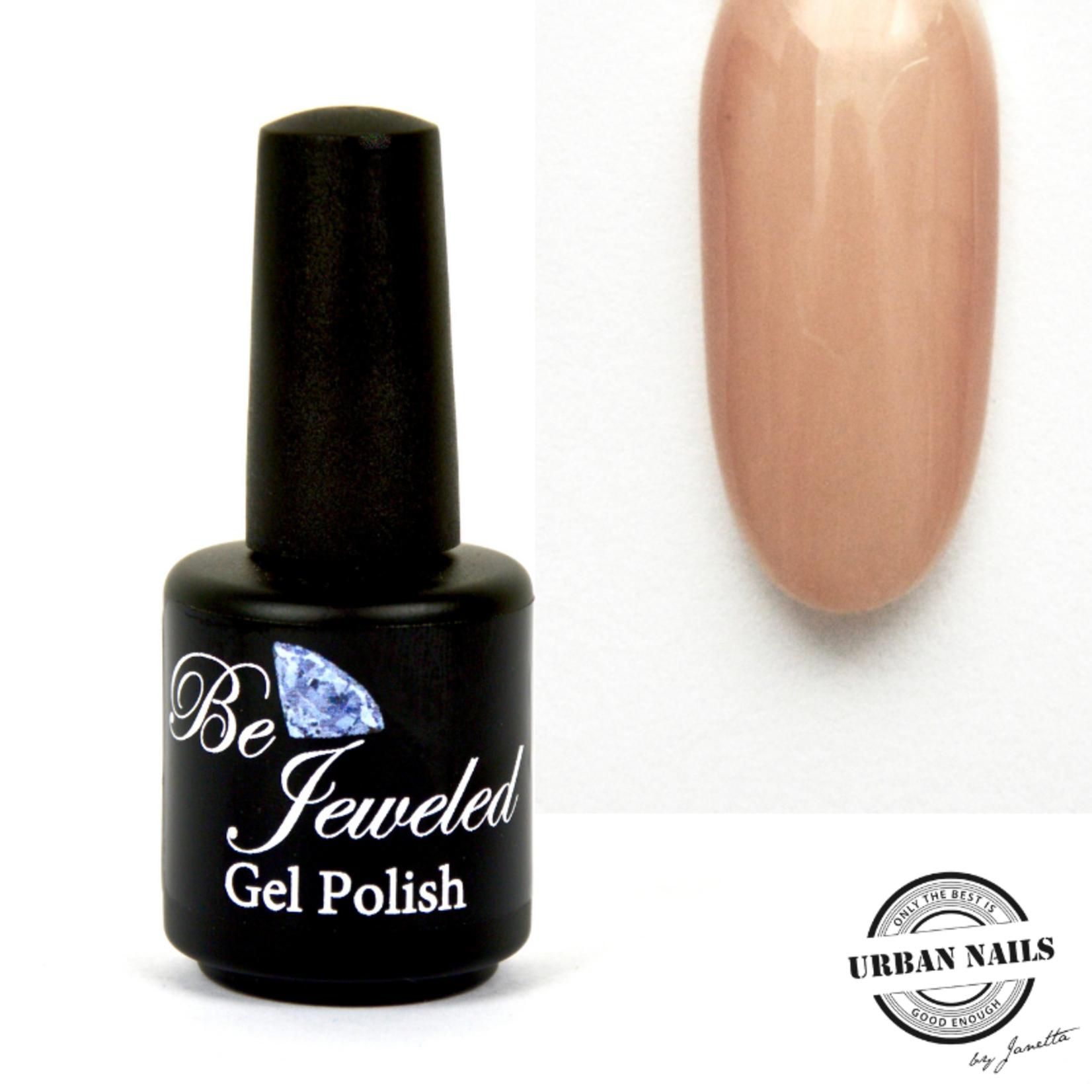 Urban Nails Be Jeweled Gelpolish 07 Nude Beige Met Shimmer