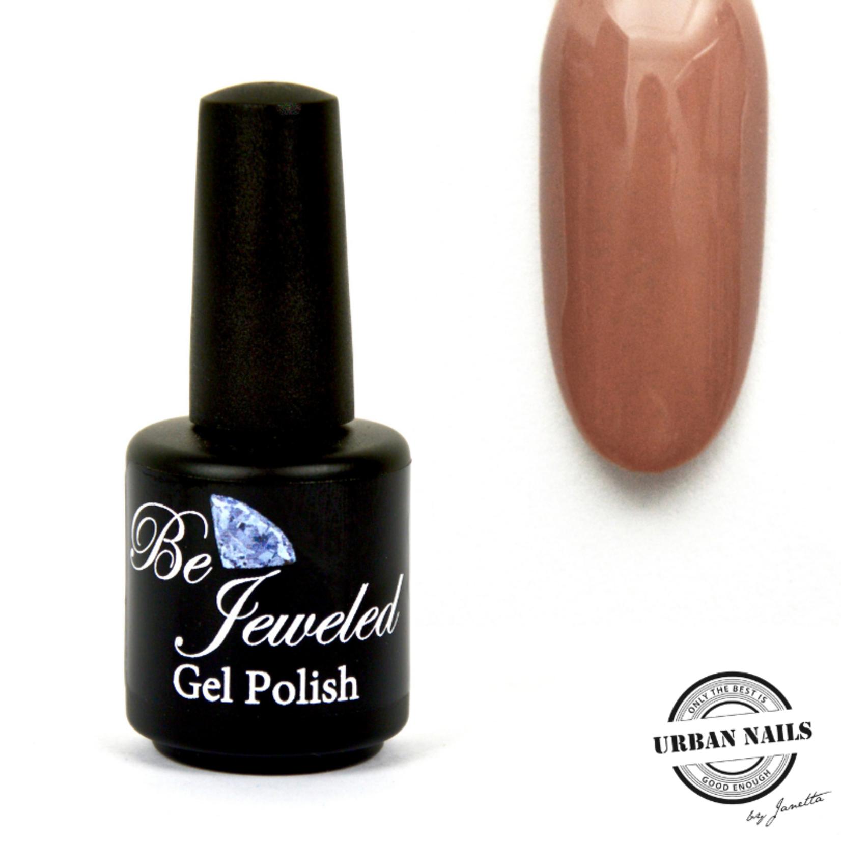 Urban Nails Be Jeweled Gelpolish 08 Nude Caramel