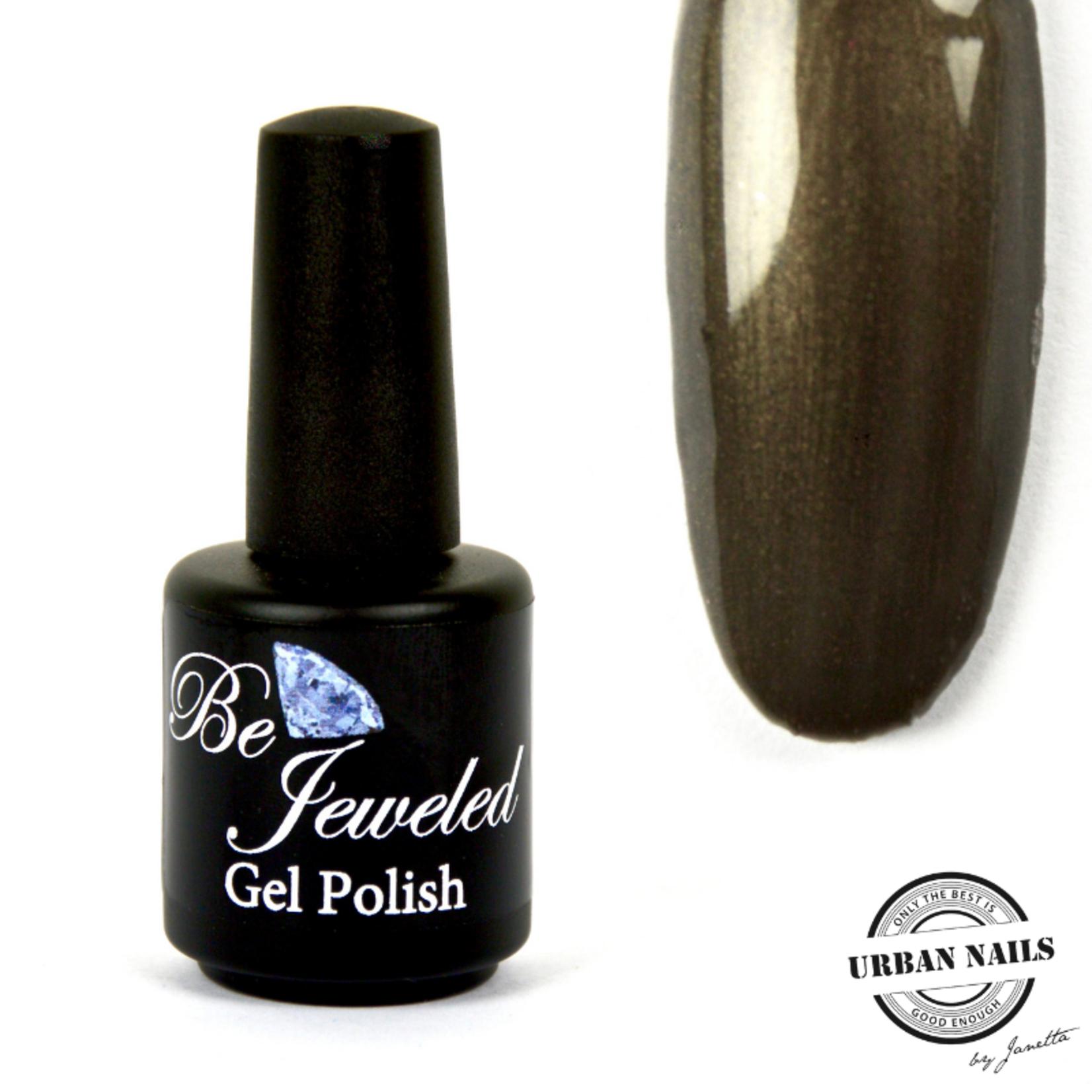 Urban Nails Be Jeweled Gelpolish 10 Bruin/Groen Met Shimmer