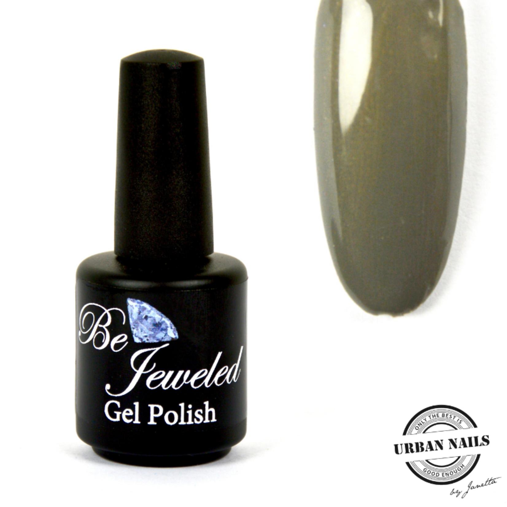 Urban Nails Be Jeweled Gelpolish 11 Groen/Grijs Met Shimmer
