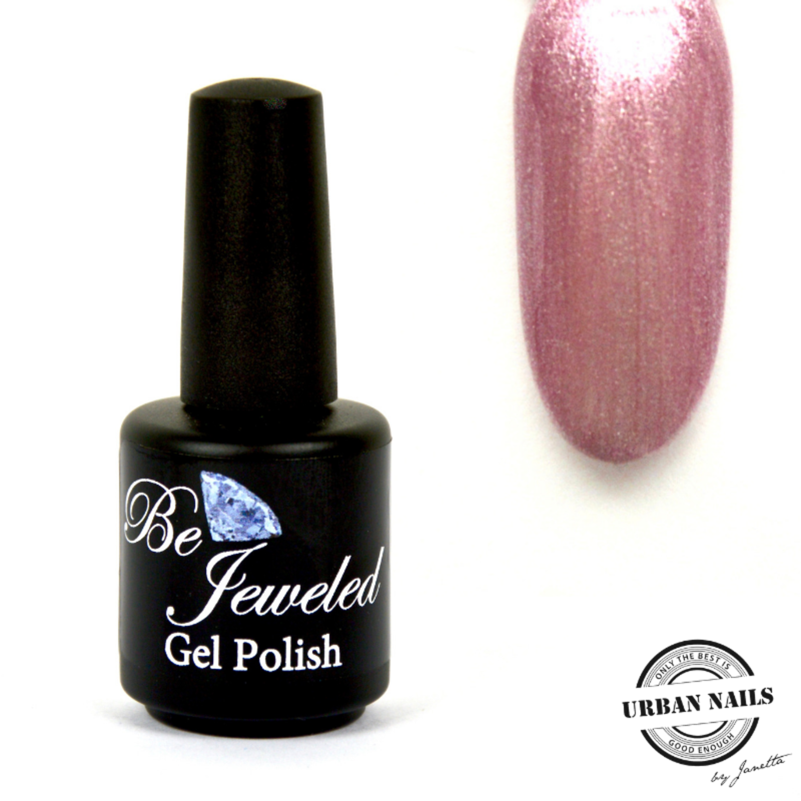 Urban Nails Be Jeweled Gelpolish 27 Roze met Shimmer