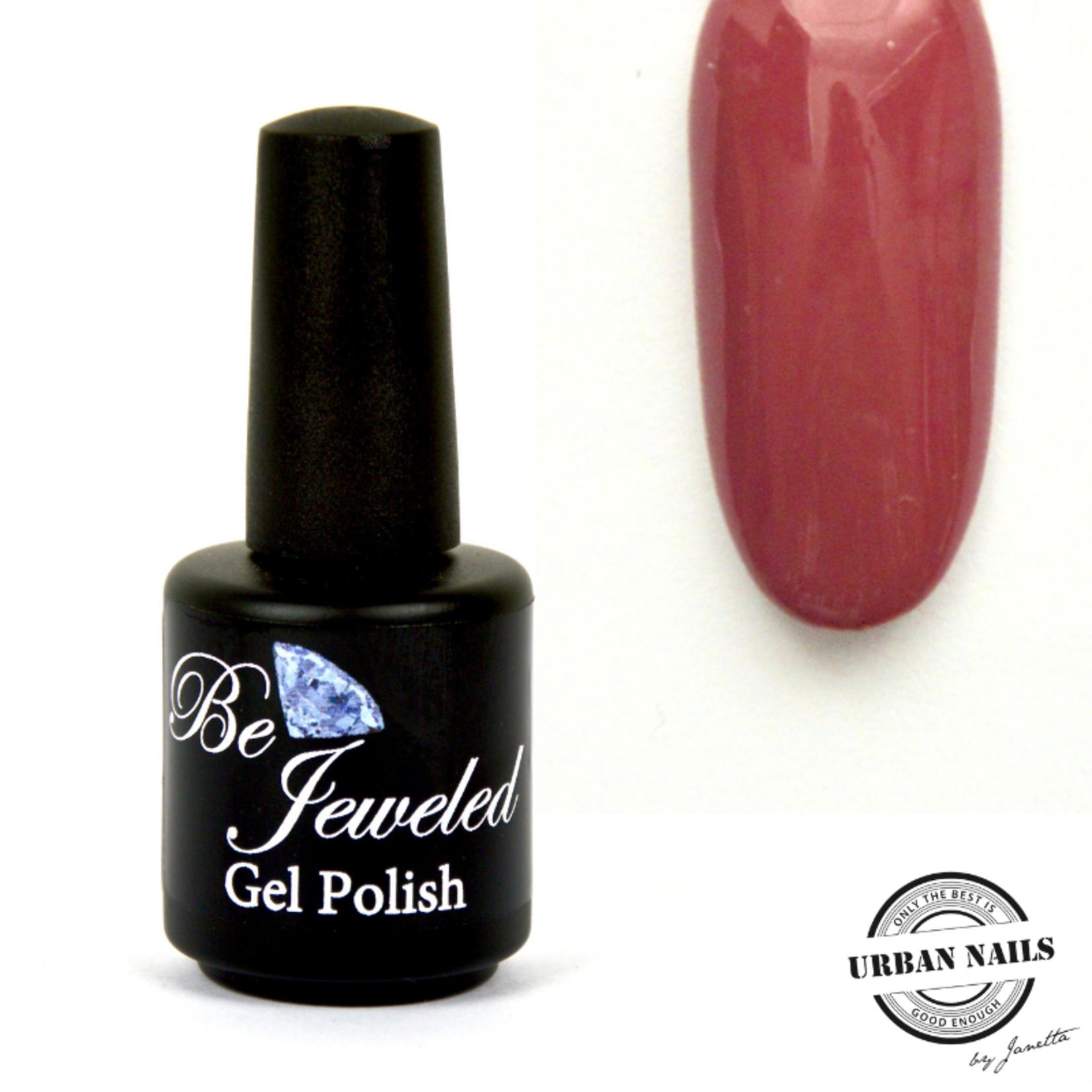 Urban Nails Be Jeweled Gelpolish 28 Donker Oud Roze