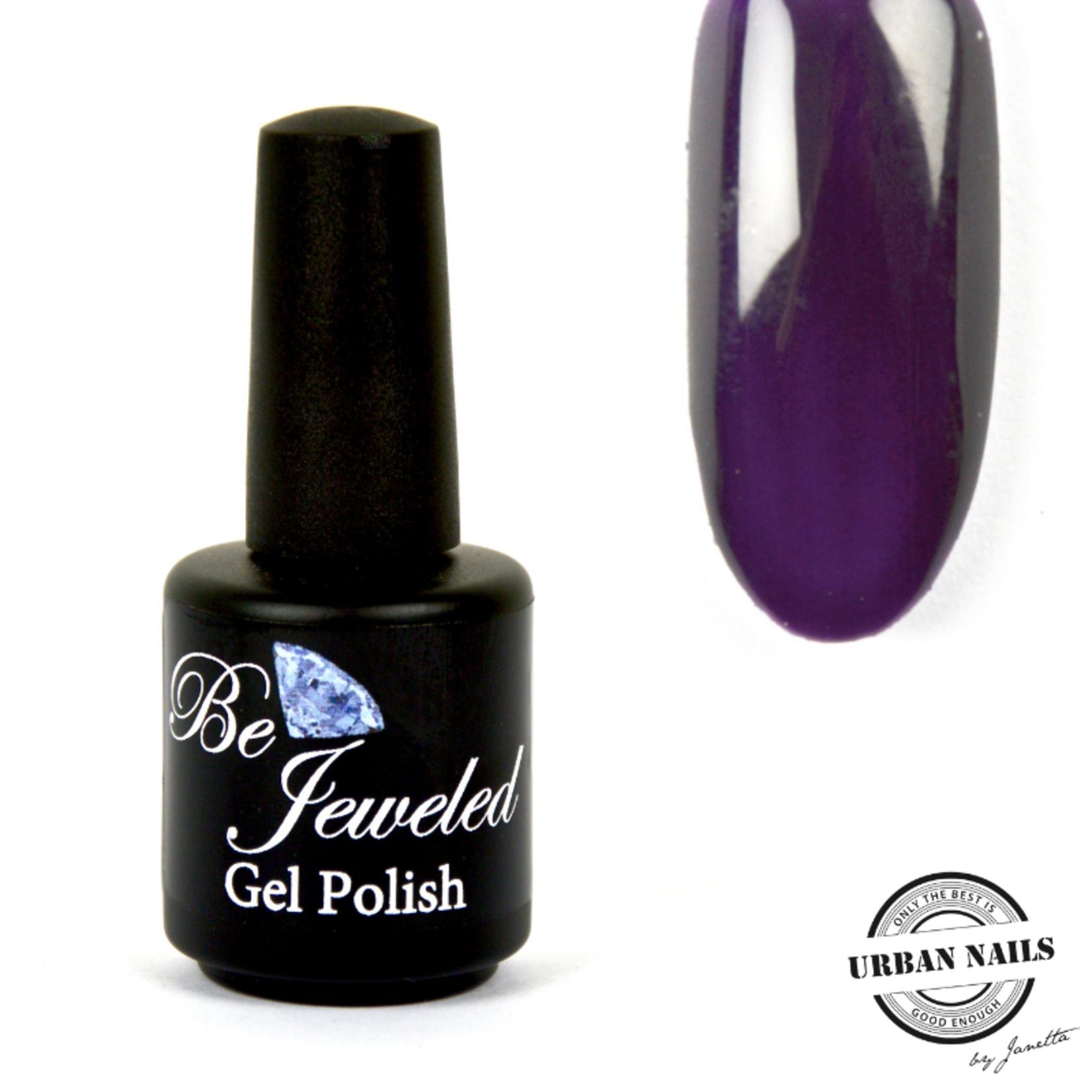 Urban Nails Be Jeweled Gelpolish 31 Donker Paars
