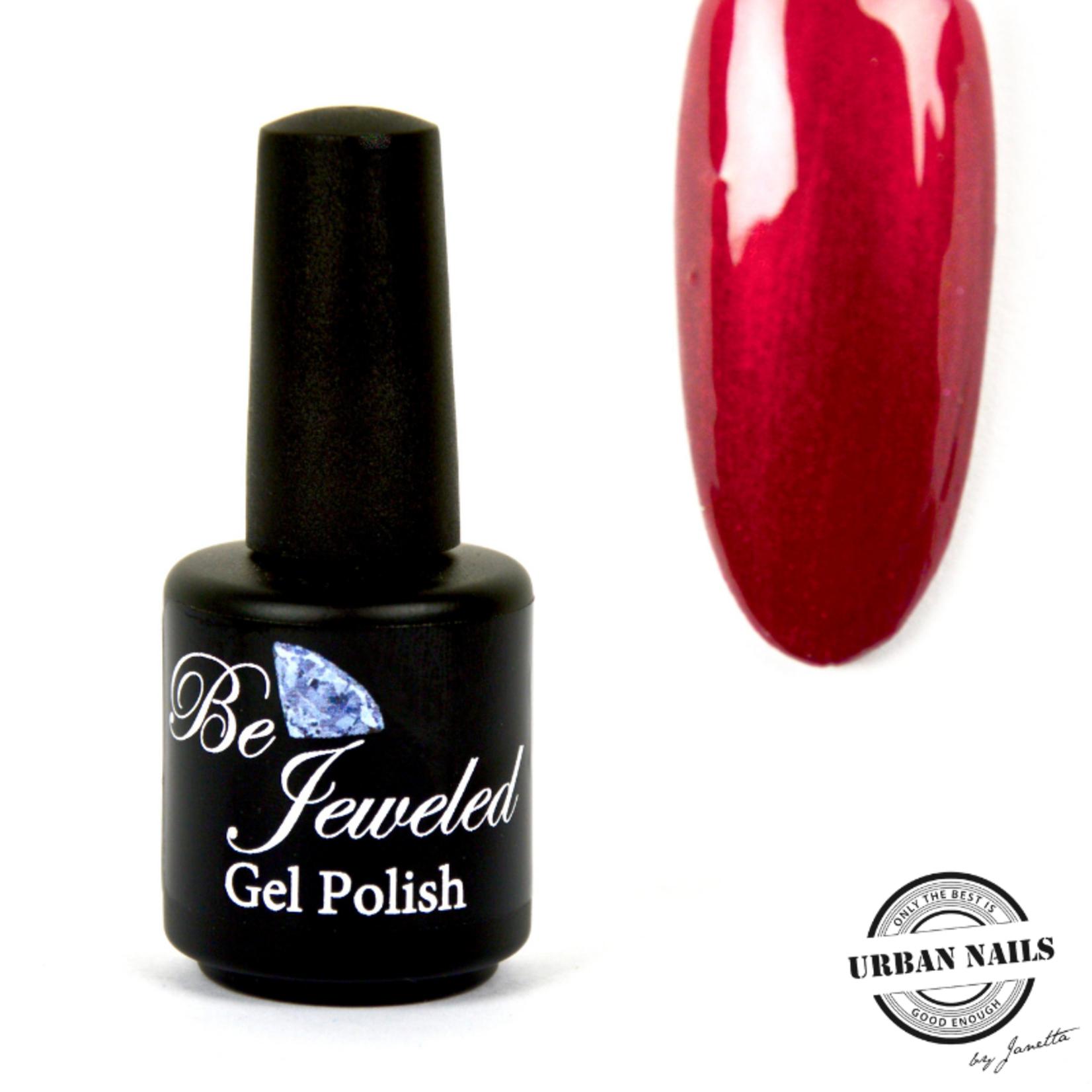 Urban Nails Be Jeweled Gelpolish 33 Rood Met Shimmer