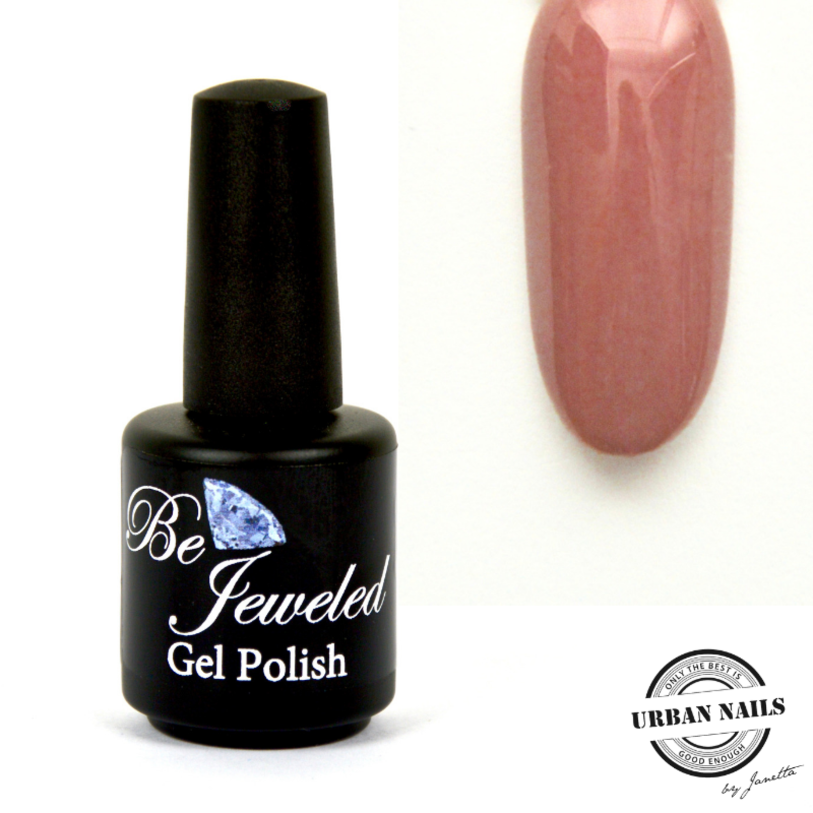 Urban Nails Be Jeweled Gelpolish 38 Licht Taupe Met Shimmer