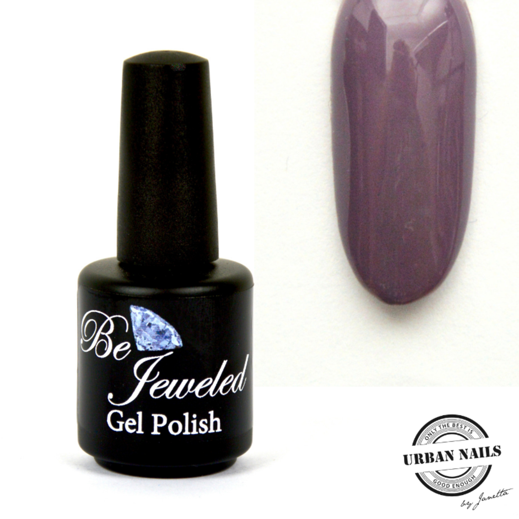 Urban Nails Be Jeweled Gelpolish 40 Grijs Paars