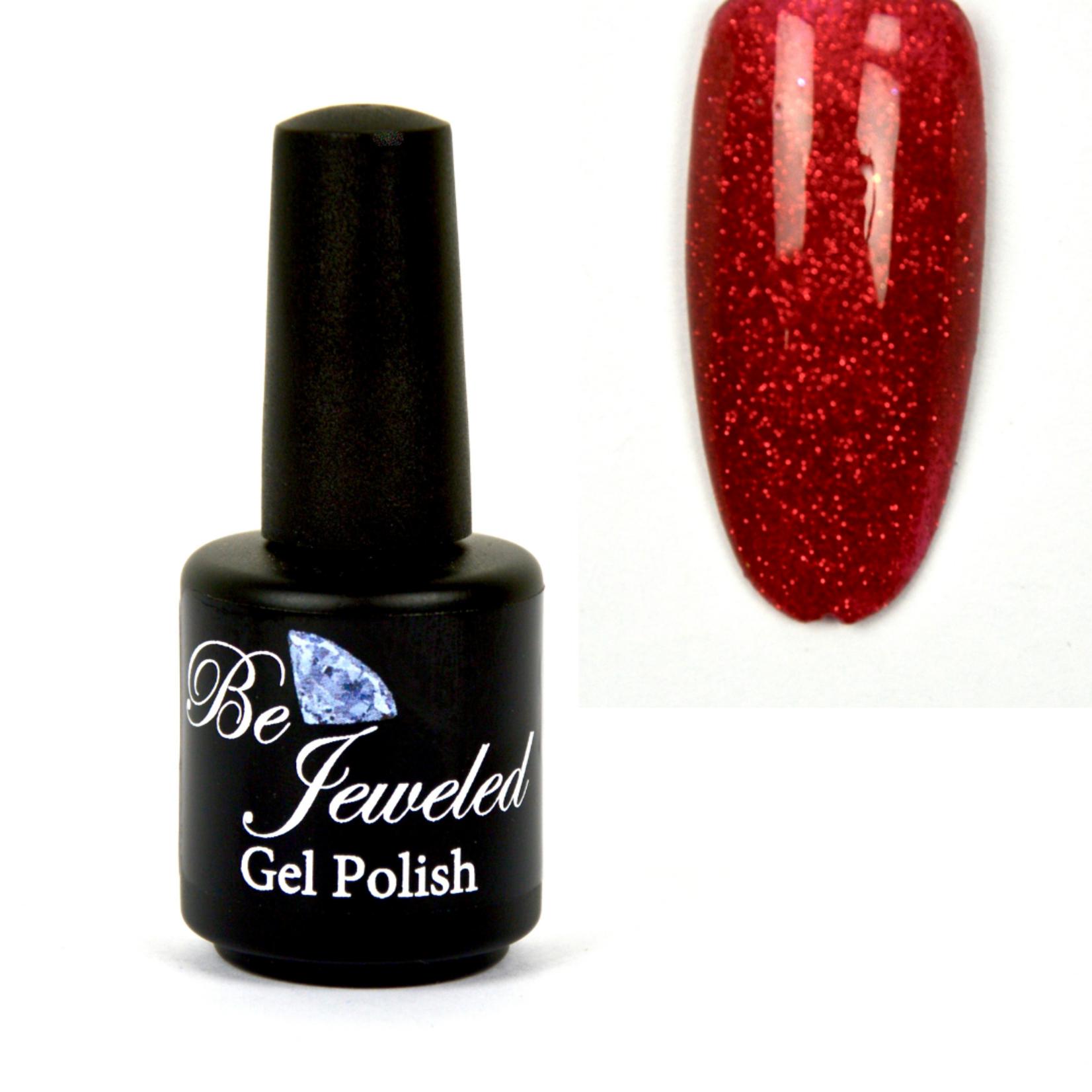 Urban Nails Be Jeweled Gelpolish 47 Rood Glitter