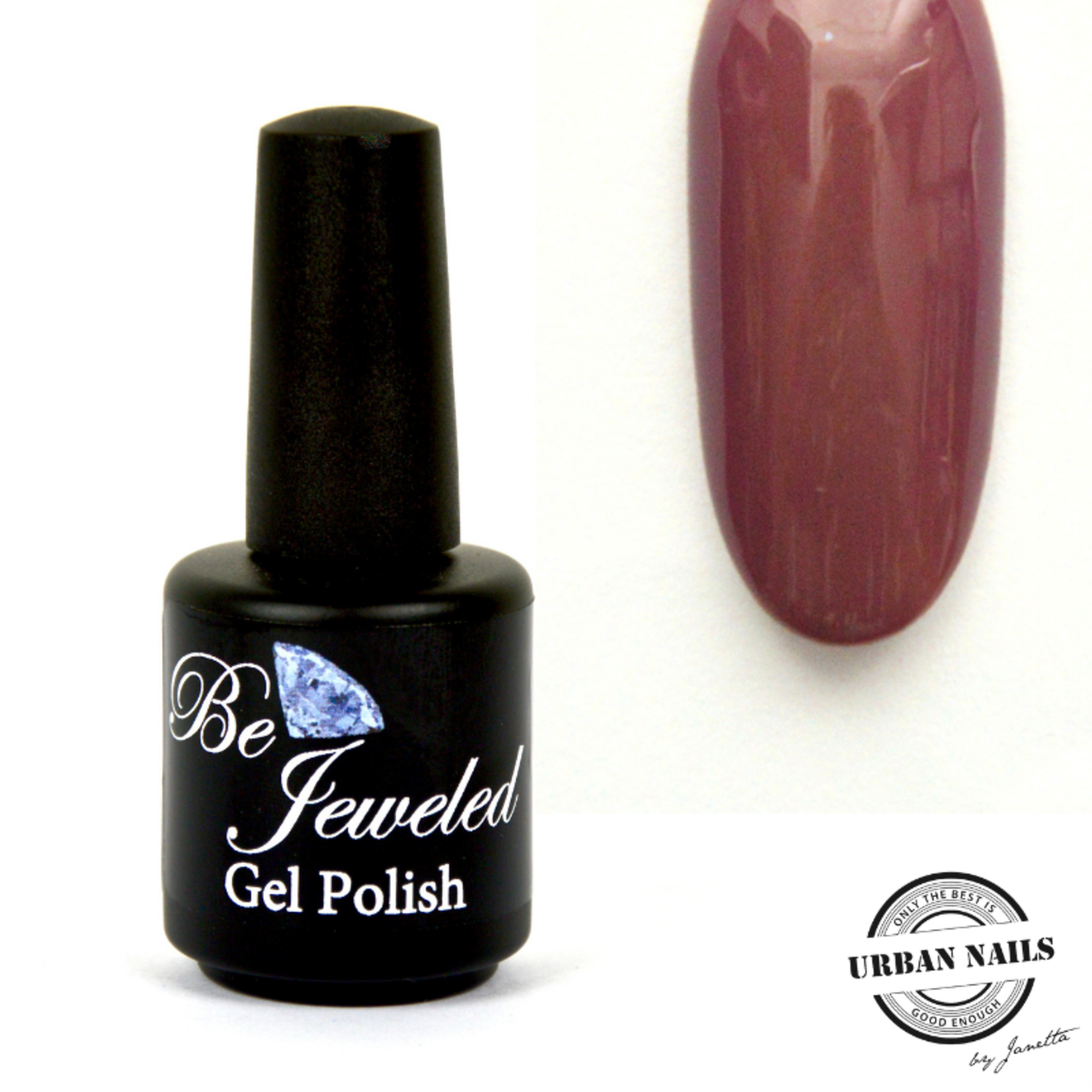 Urban Nails Be Jeweled Gelpolish 58 Bruin Roze