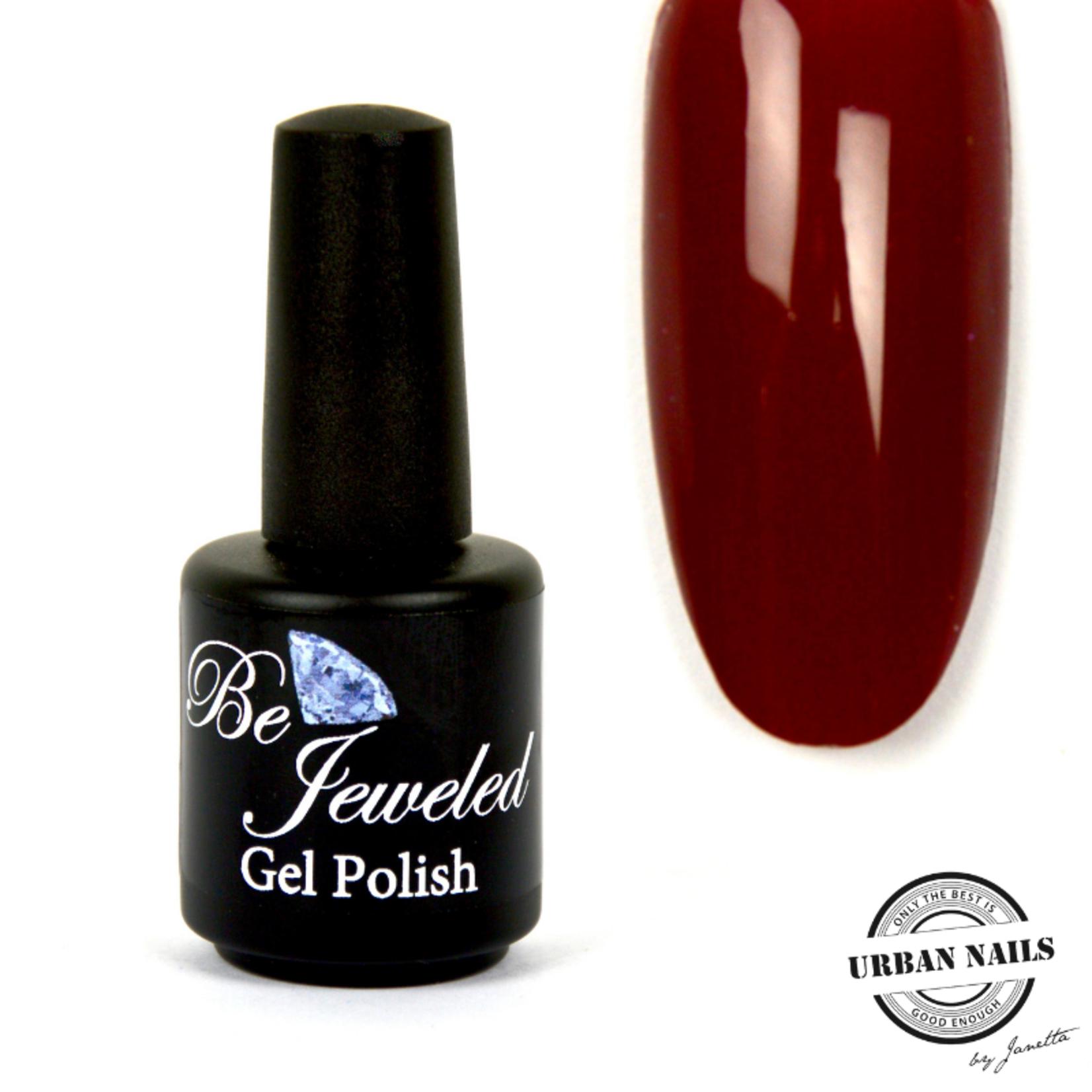 Urban Nails Be Jeweled Gelpolish 62 Donker Rood