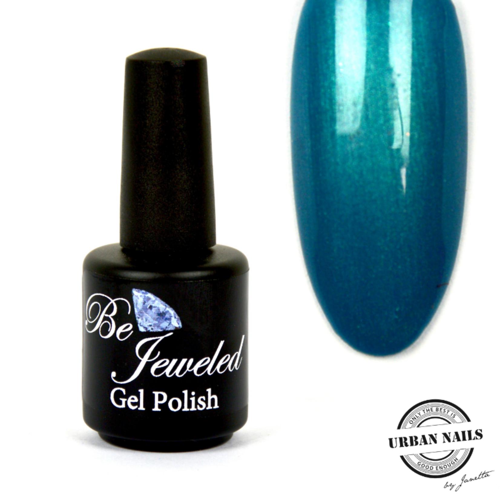 Urban Nails Be Jeweled Gelpolish 65 Turquoise Met Shimmer
