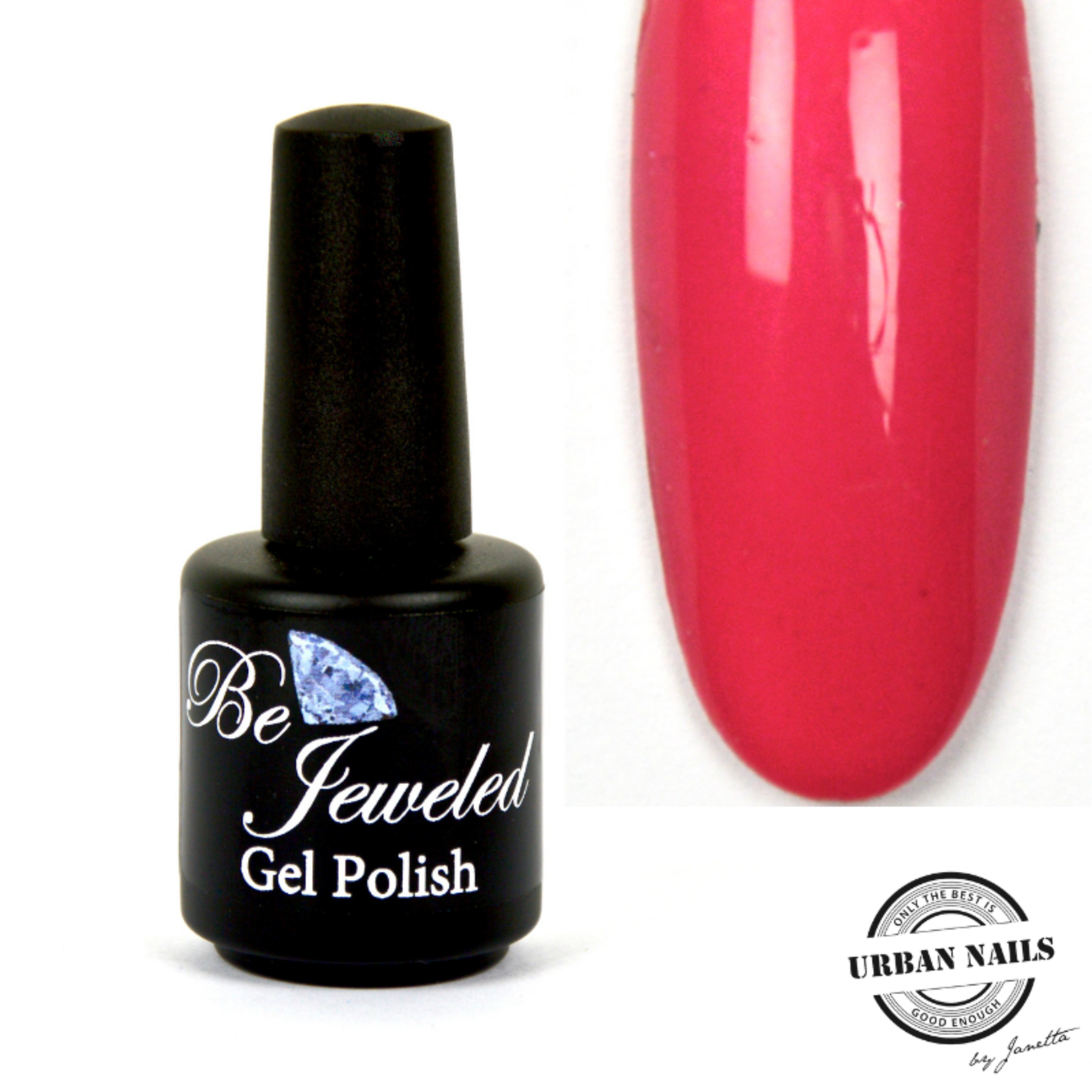 Urban Nails Be Jeweled Gelpolish 70 Donker Roze
