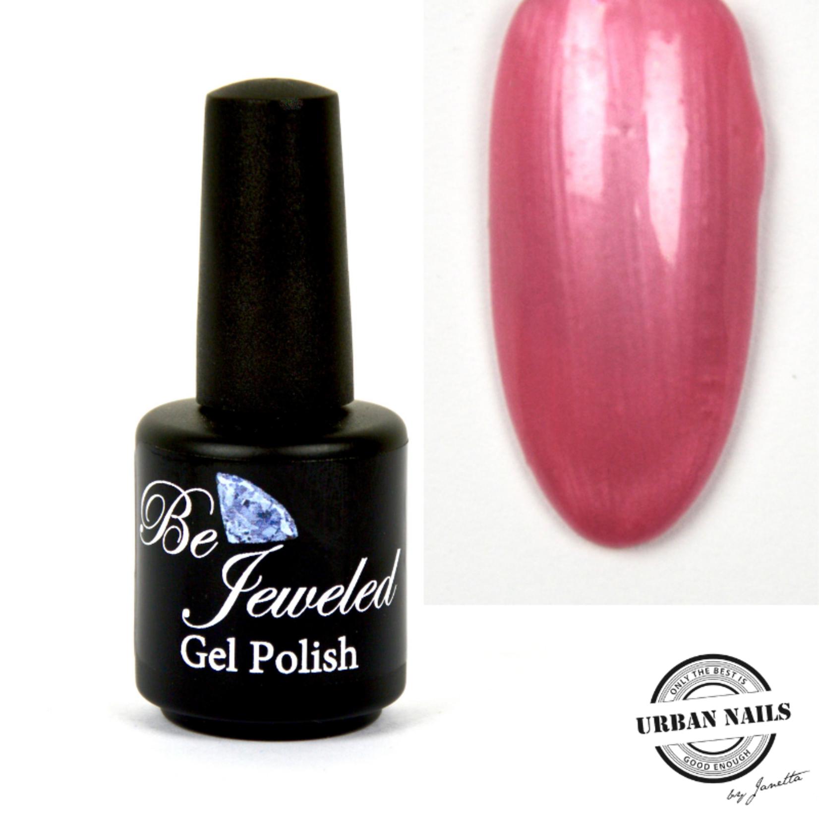 Urban Nails Be Jeweled Gelpolish 72 Parelmoer Roze