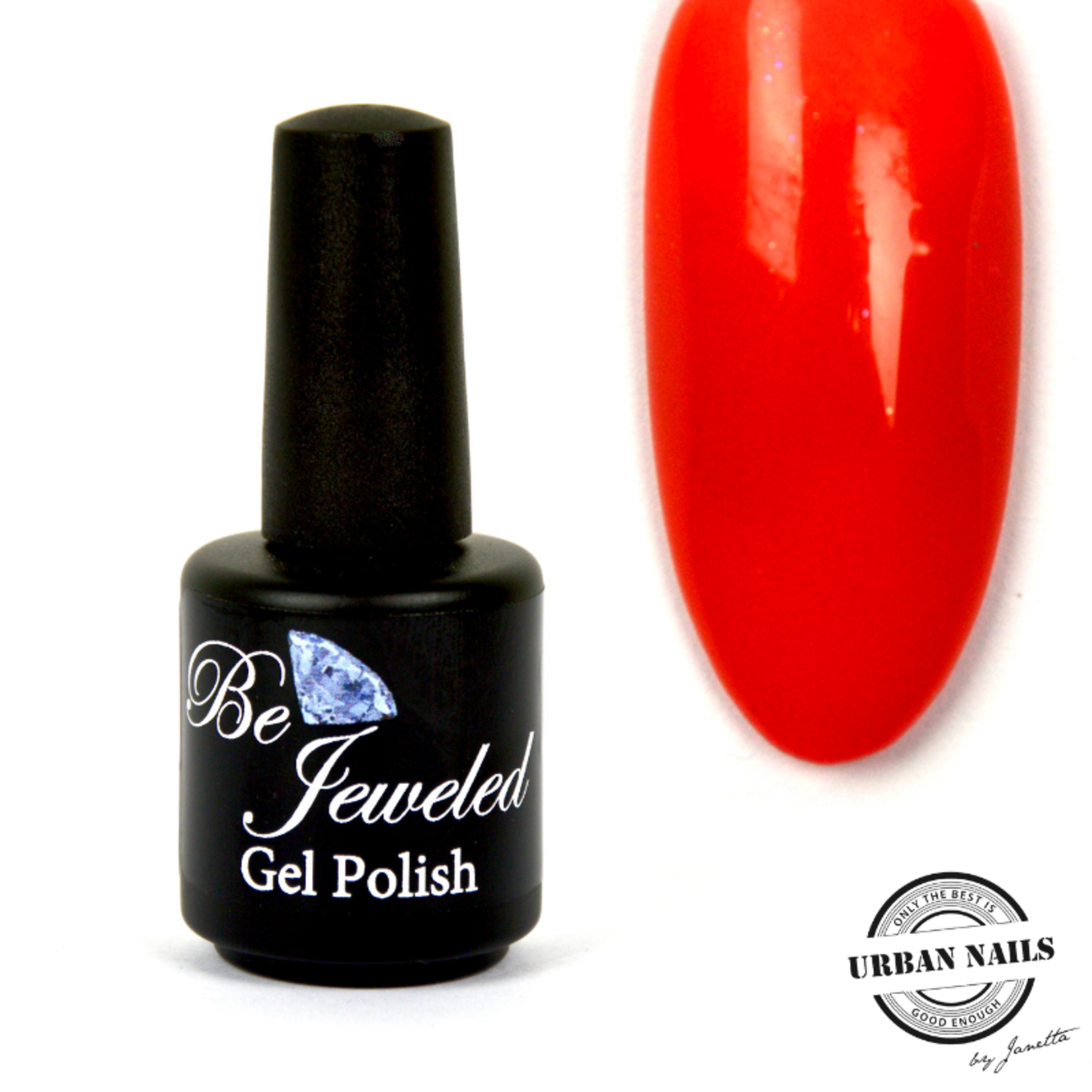 Urban Nails Be Jeweled Gelpolish 74 Neon Rood