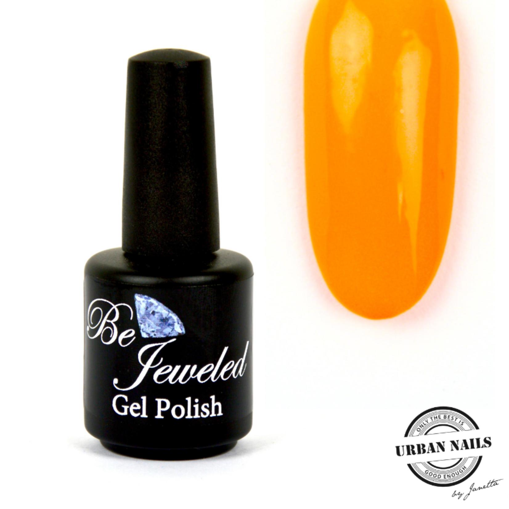 Urban Nails Be Jeweled Gelpolish 78 Neon Geel Oranje