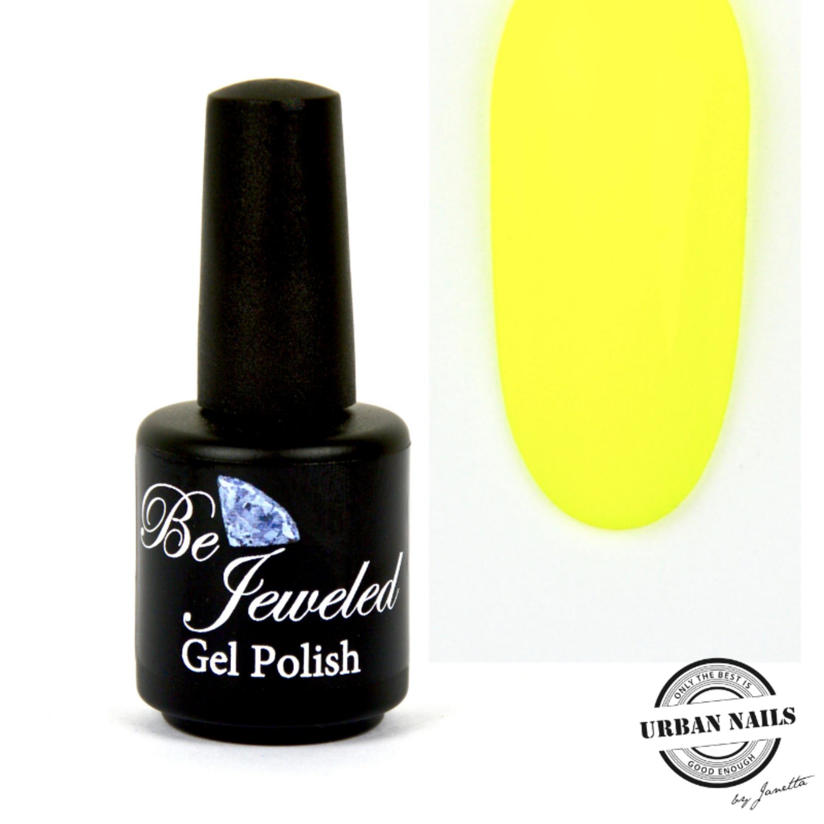 Urban Nails Be Jeweled Gelpolish 79 Neon Geel