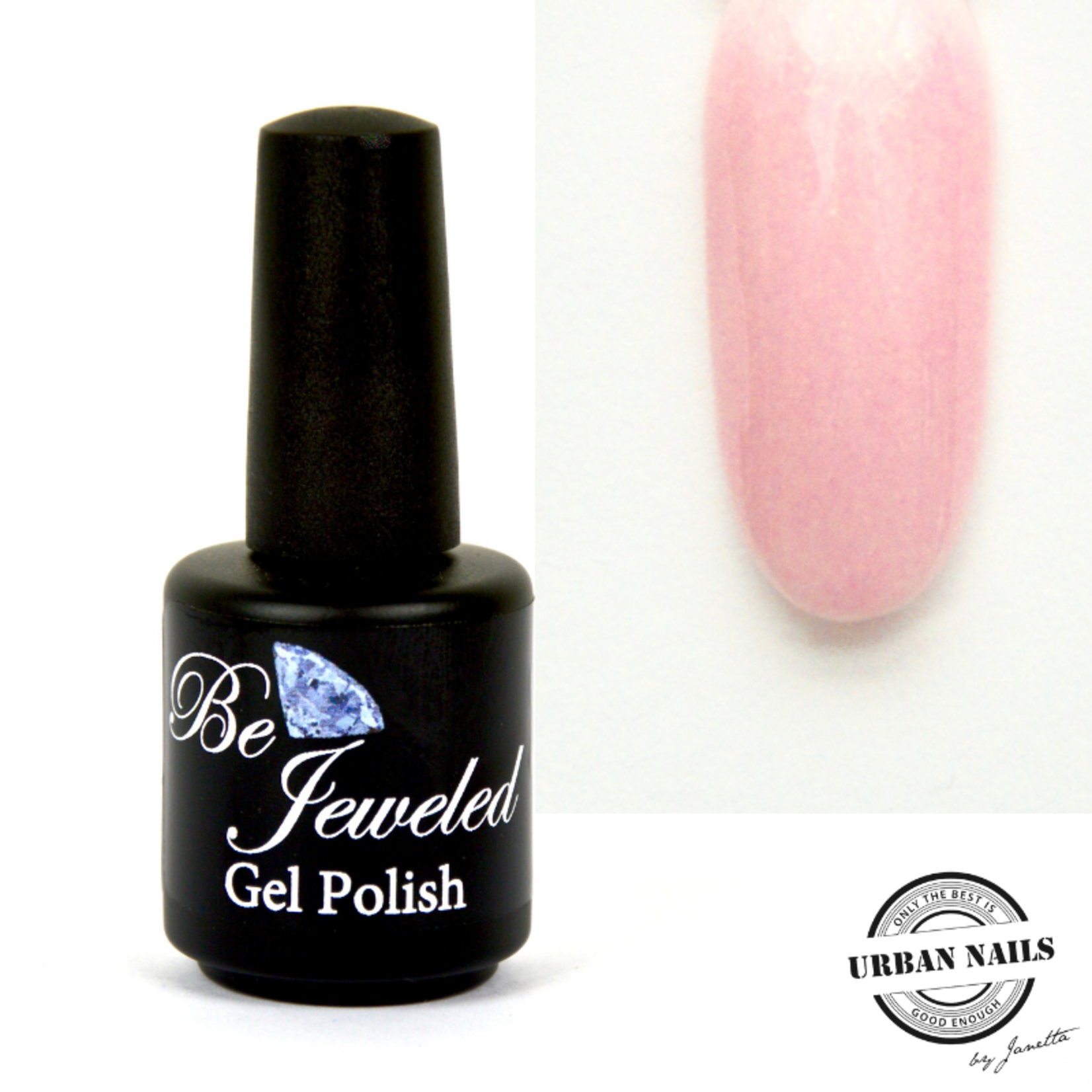 Urban Nails Be Jeweled Gelpolish 82 Zacht Roze Met Shimmer