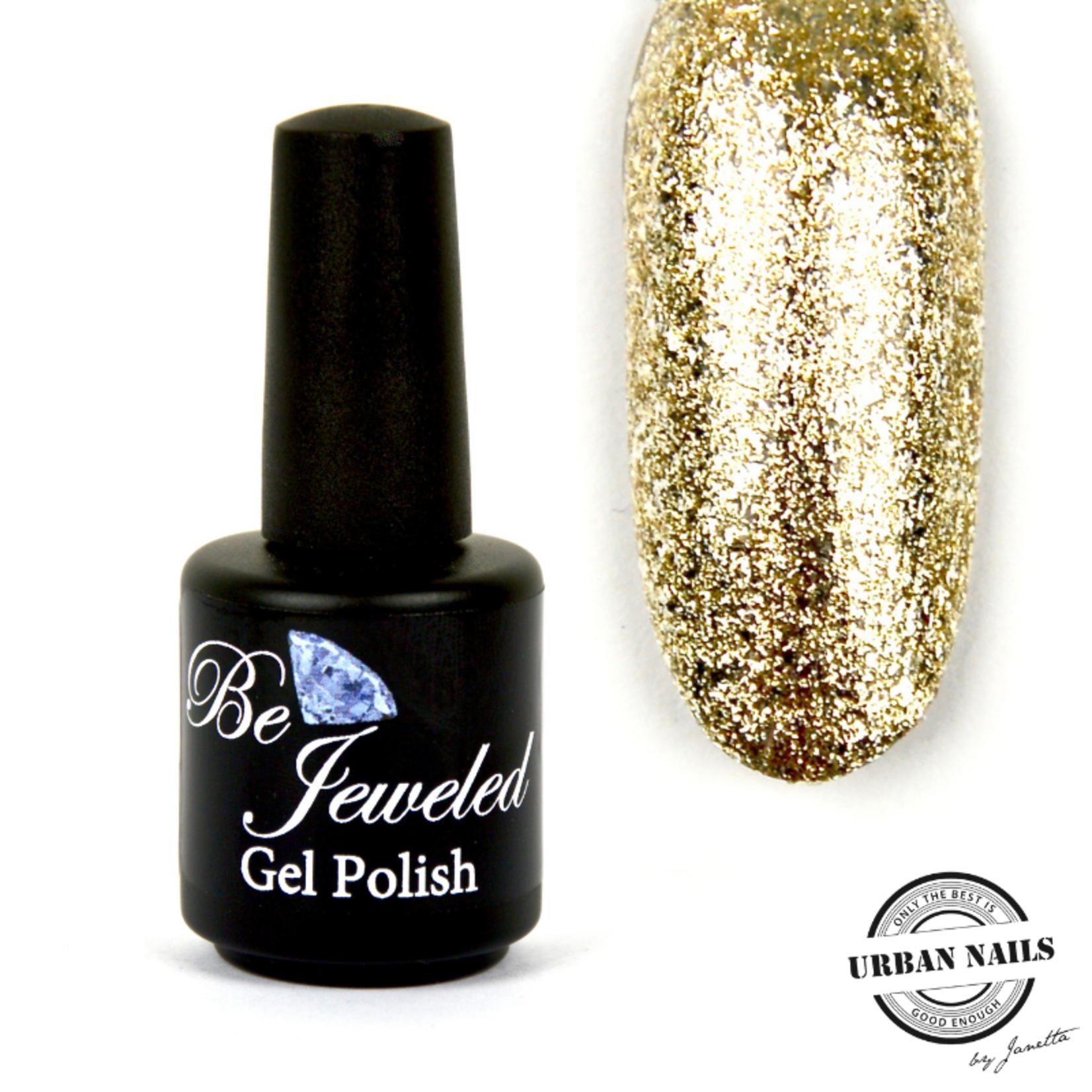 Urban Nails Be Jeweled Gelpolish 83 Gouden Glitter