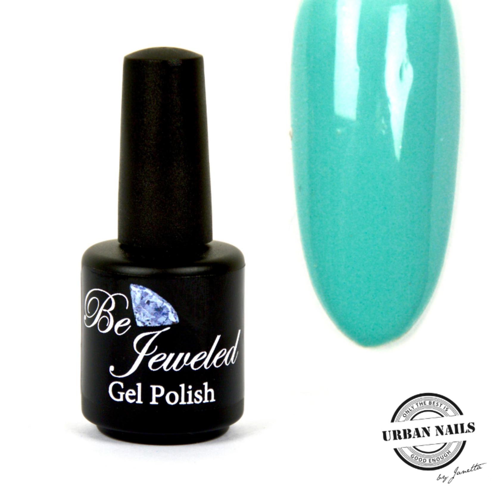 Urban Nails Be Jeweled Gelpolish 86 Licht Turquoise