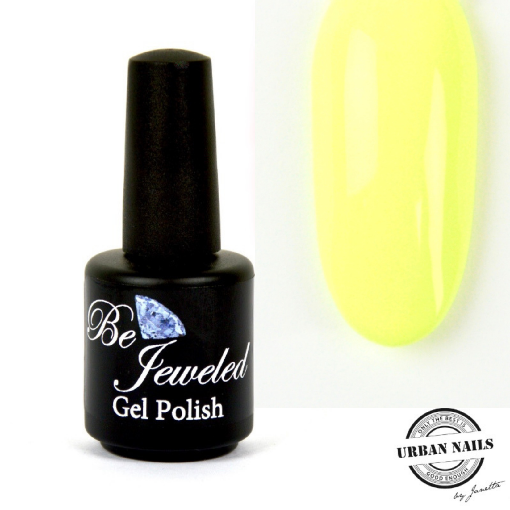 Urban Nails Be Jeweled Gelpolish 89 Pastel Geel Groen