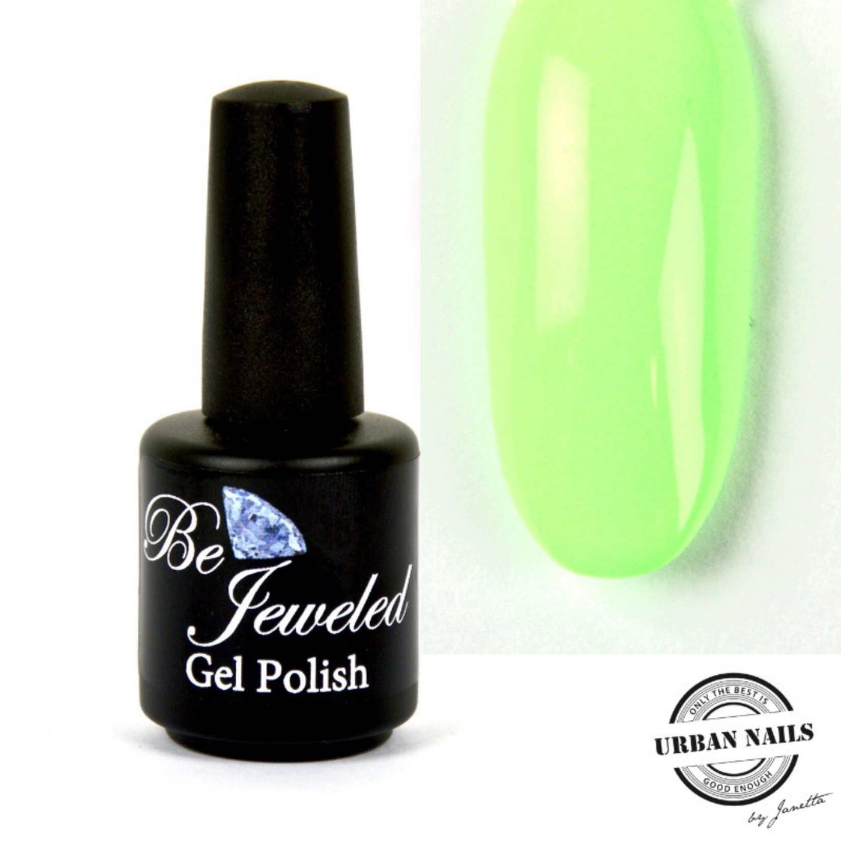 Urban Nails Be Jeweled Gelpolish 92 Pastel Groen