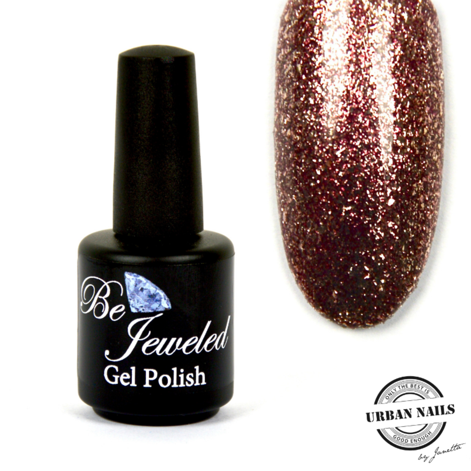 Urban Nails Be Jeweled Gelpolish 99 Rosé Glitter