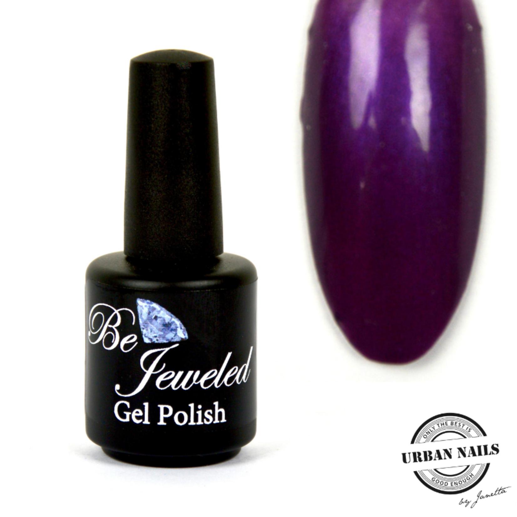 Urban Nails Be Jeweled Gelpolish 119 Donker Paars Met Shimmer