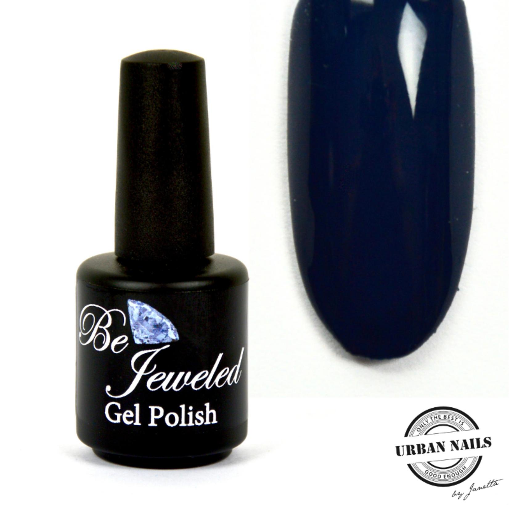 Urban Nails Be Jeweled Gelpolish 126 Donker Grijs Blauw