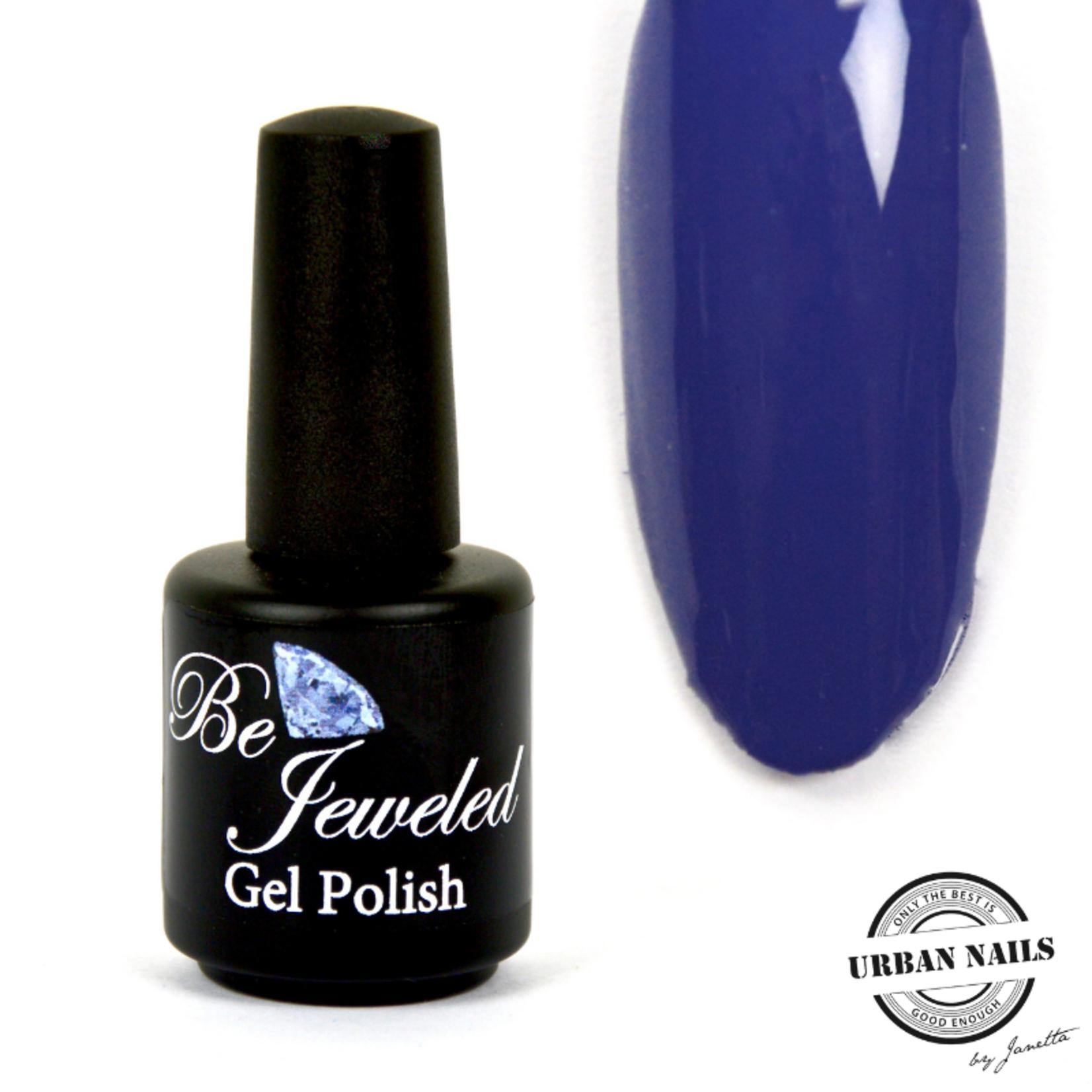 Urban Nails Be Jeweled Gelpolish 127 Donker Blauw Paars