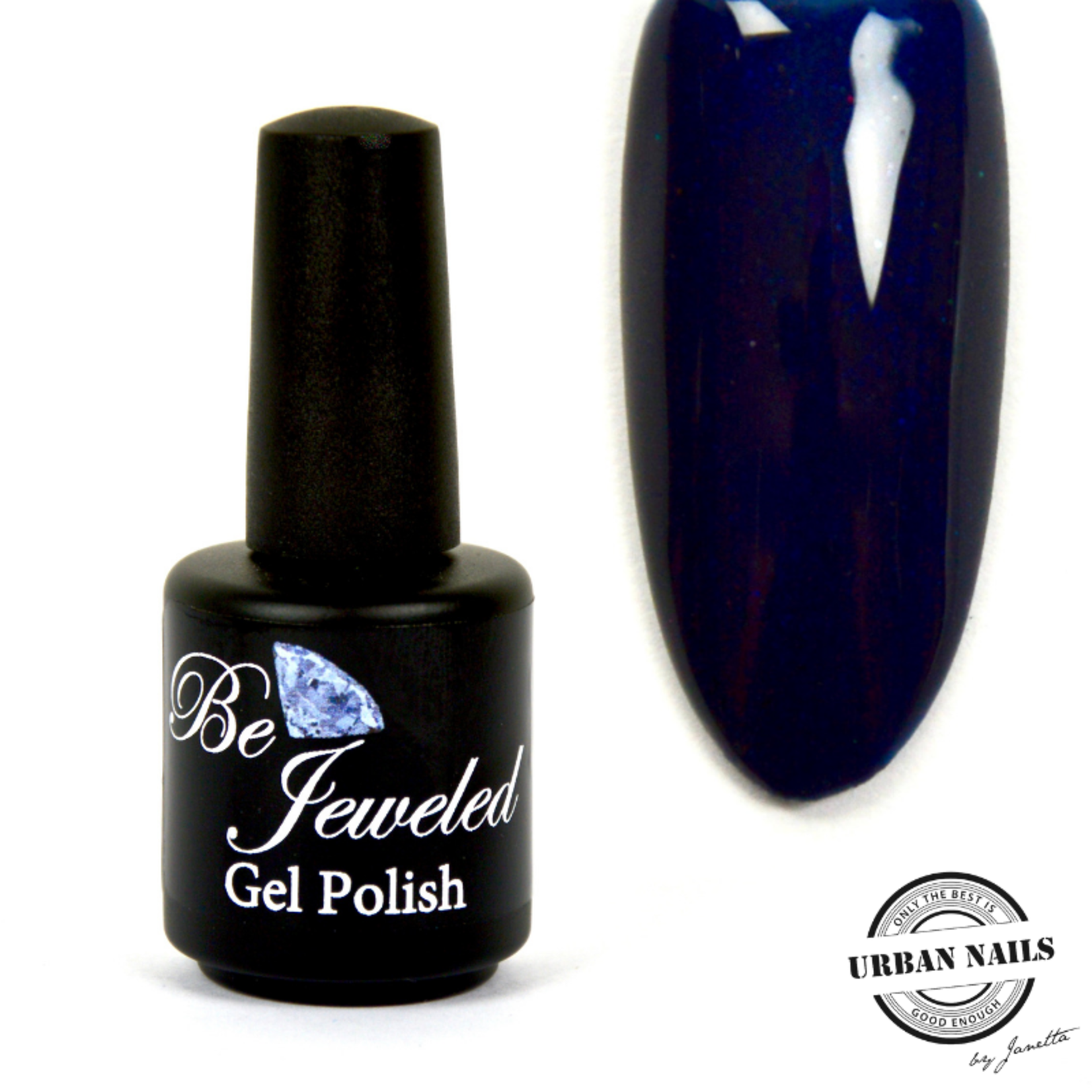 Urban Nails Be Jeweled Gelpolish 143 Diepblauw Shimmer