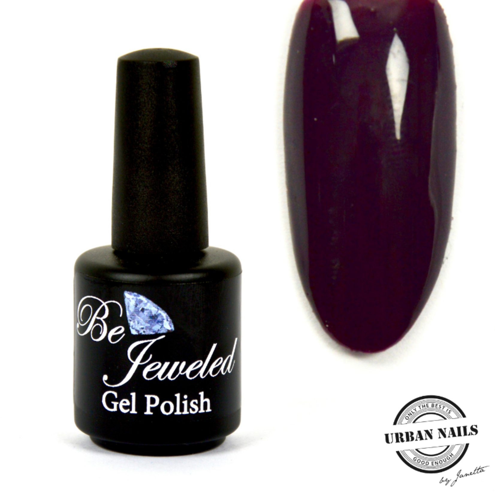 Urban Nails Be Jeweled Gelpolish 146 Donker Paars