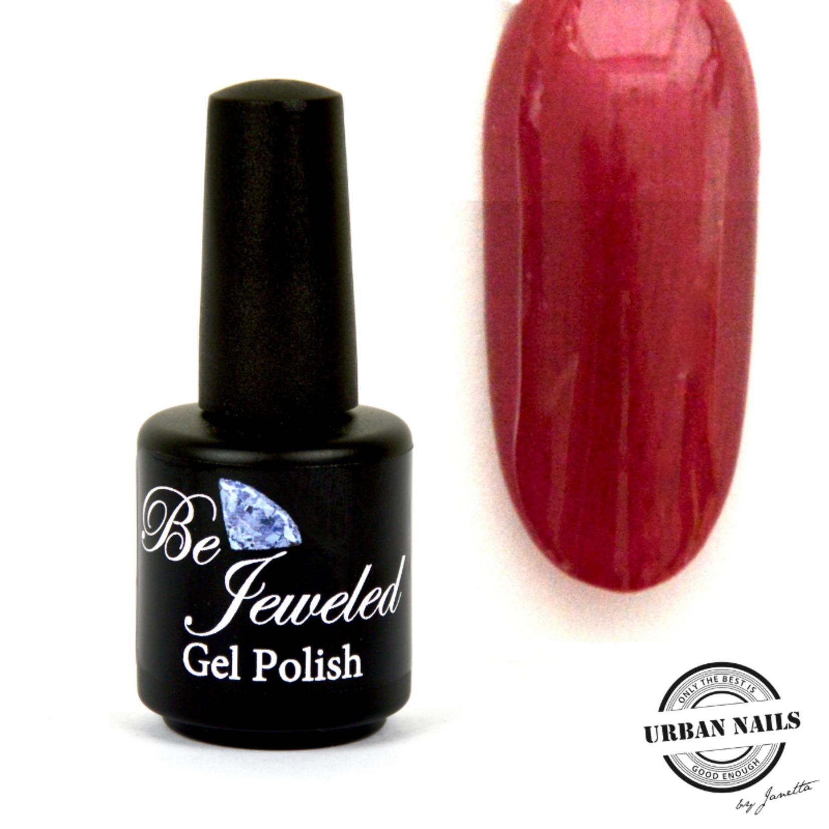 Urban Nails Be Jeweled Gelpolish 152 Kers Rood Shimmer