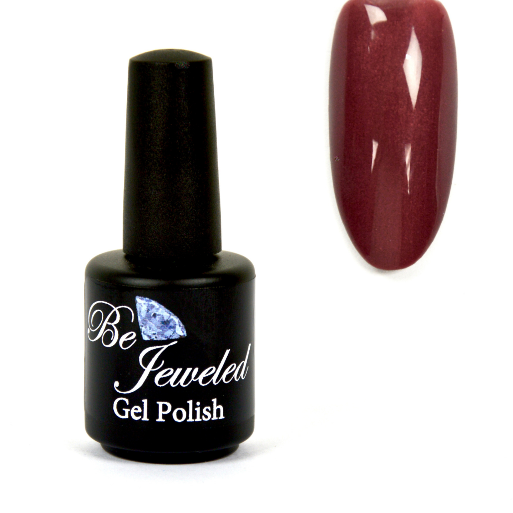Urban Nails Be Jeweled Gelpolish 154 Zacht Kers Rood Shimmer