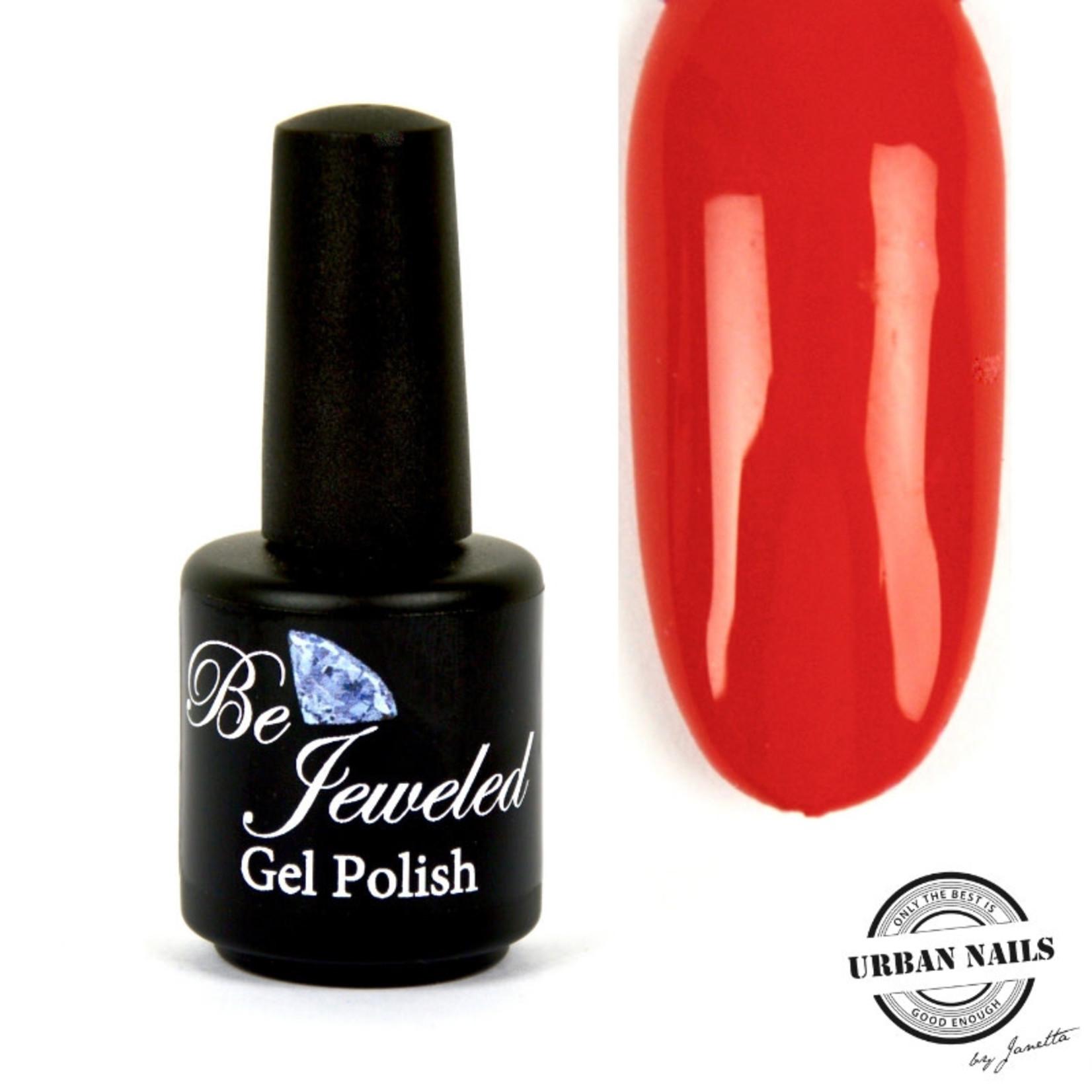 Urban Nails Be Jeweled Gelpolish 163 Ferrari Rood