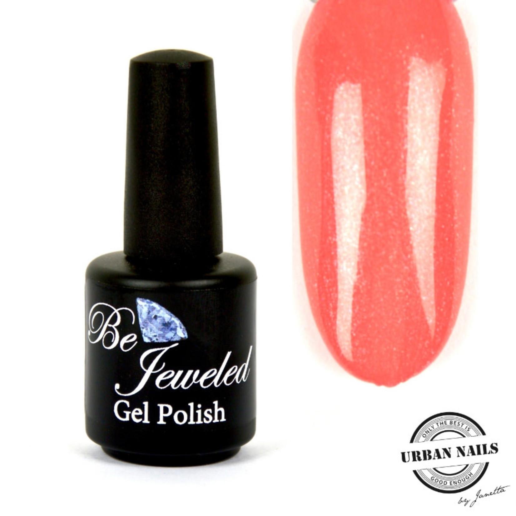 Urban Nails Be Jeweled Gelpolish 166 Zalm Glitter