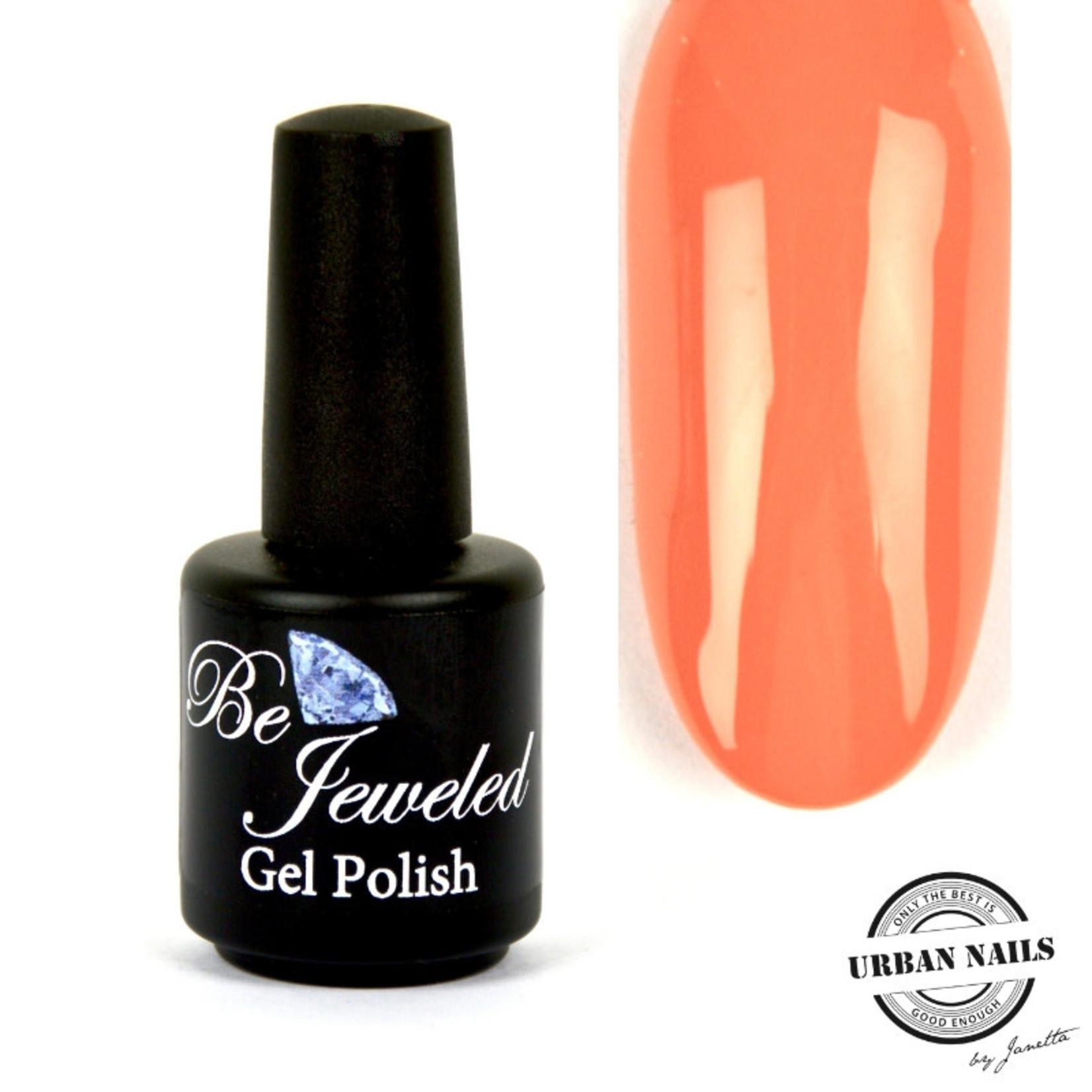 Urban Nails Be Jeweled Gelpolish 167 Zacht Oranje
