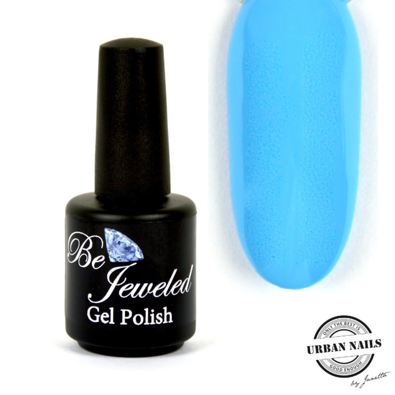 Urban Nails Be Jeweled Gelpolish 173 Neon Blauw