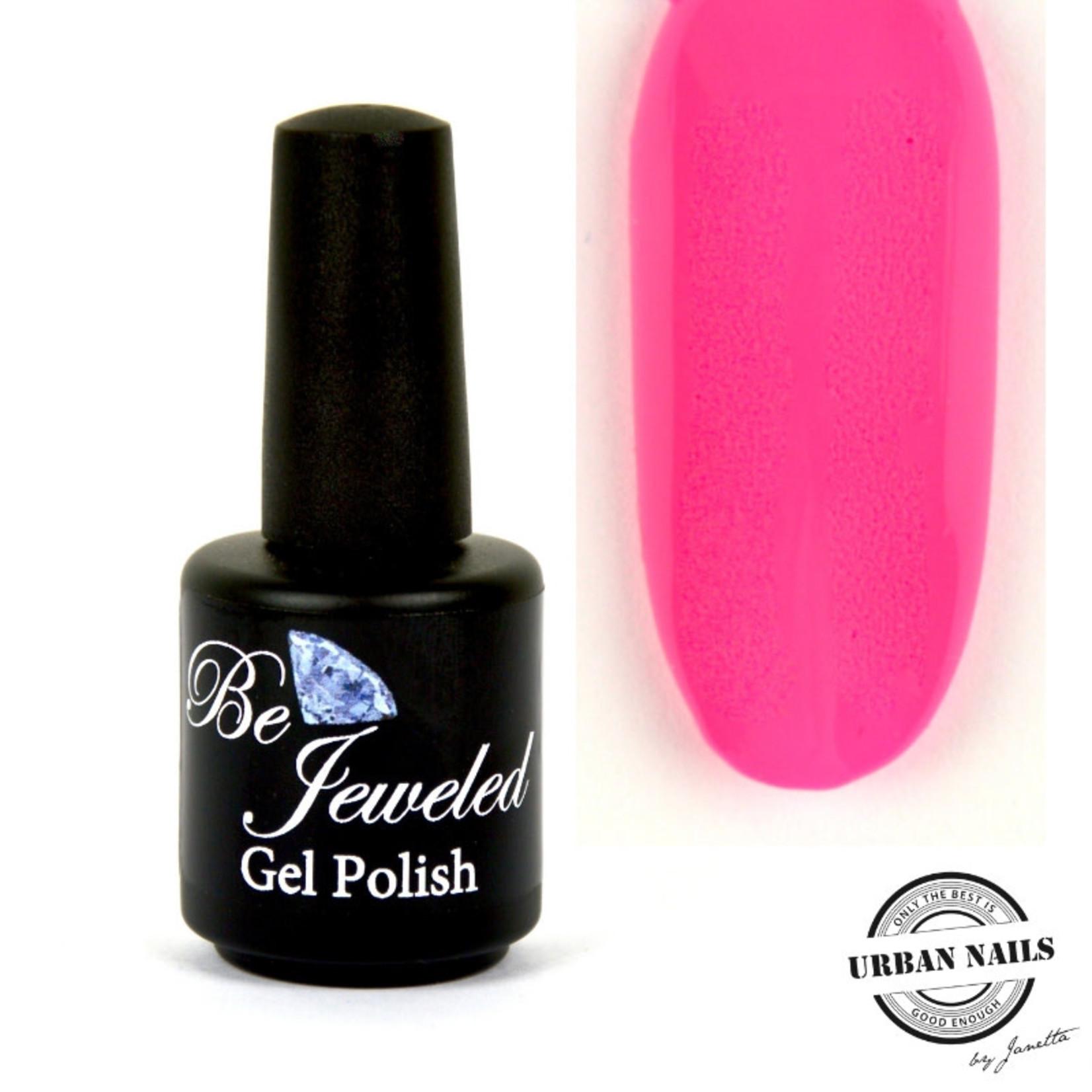 Urban Nails Be Jeweled Gelpolish 174 Neon Roze