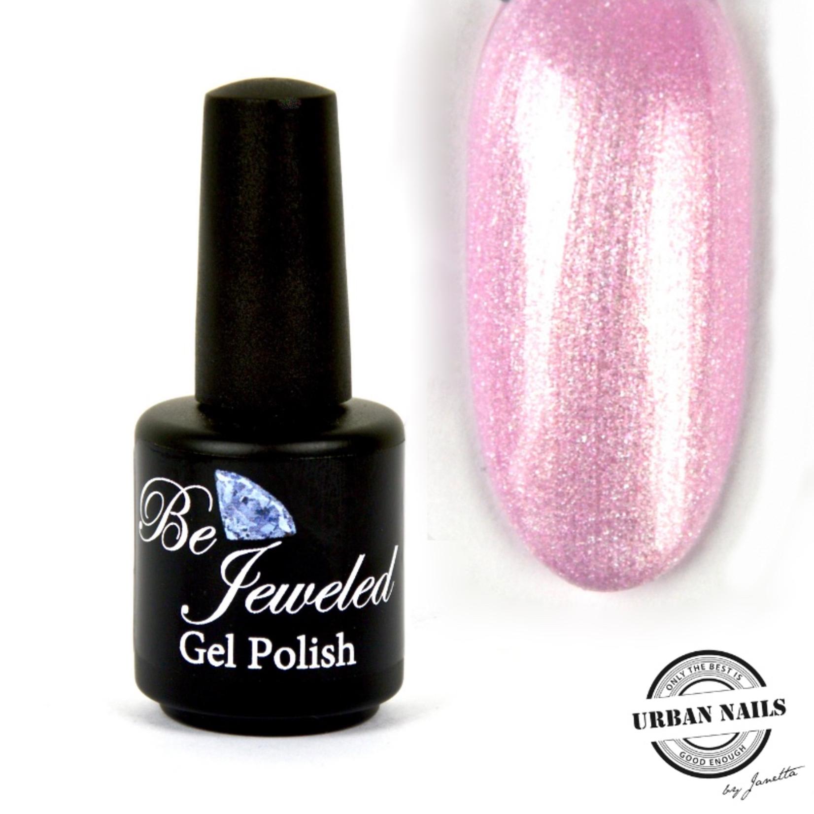 Urban Nails Be Jeweled Gelpolish 176 Zacht Roze Shimmer