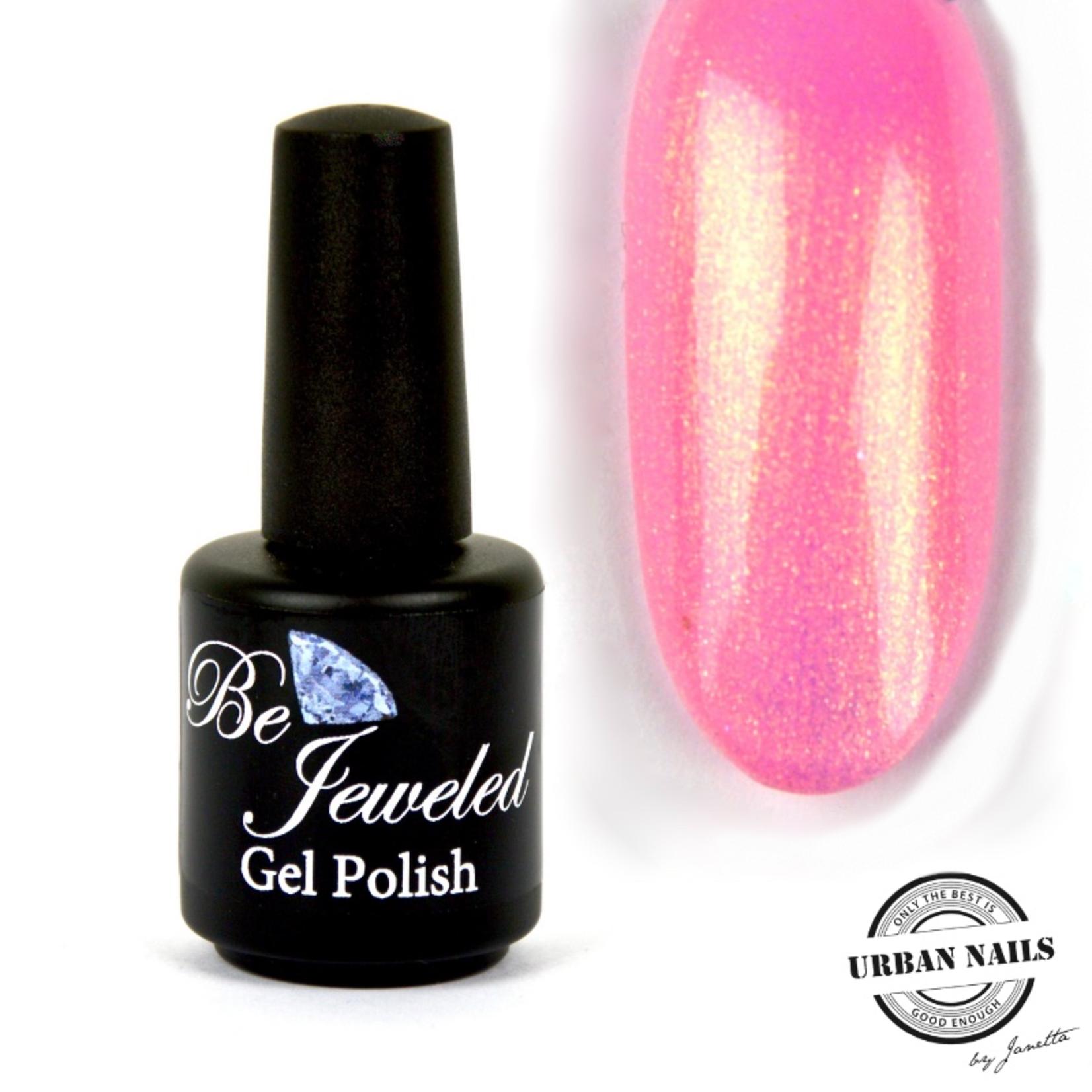 Urban Nails Be Jeweled Gelpolish 177 Knalroze Shimmer