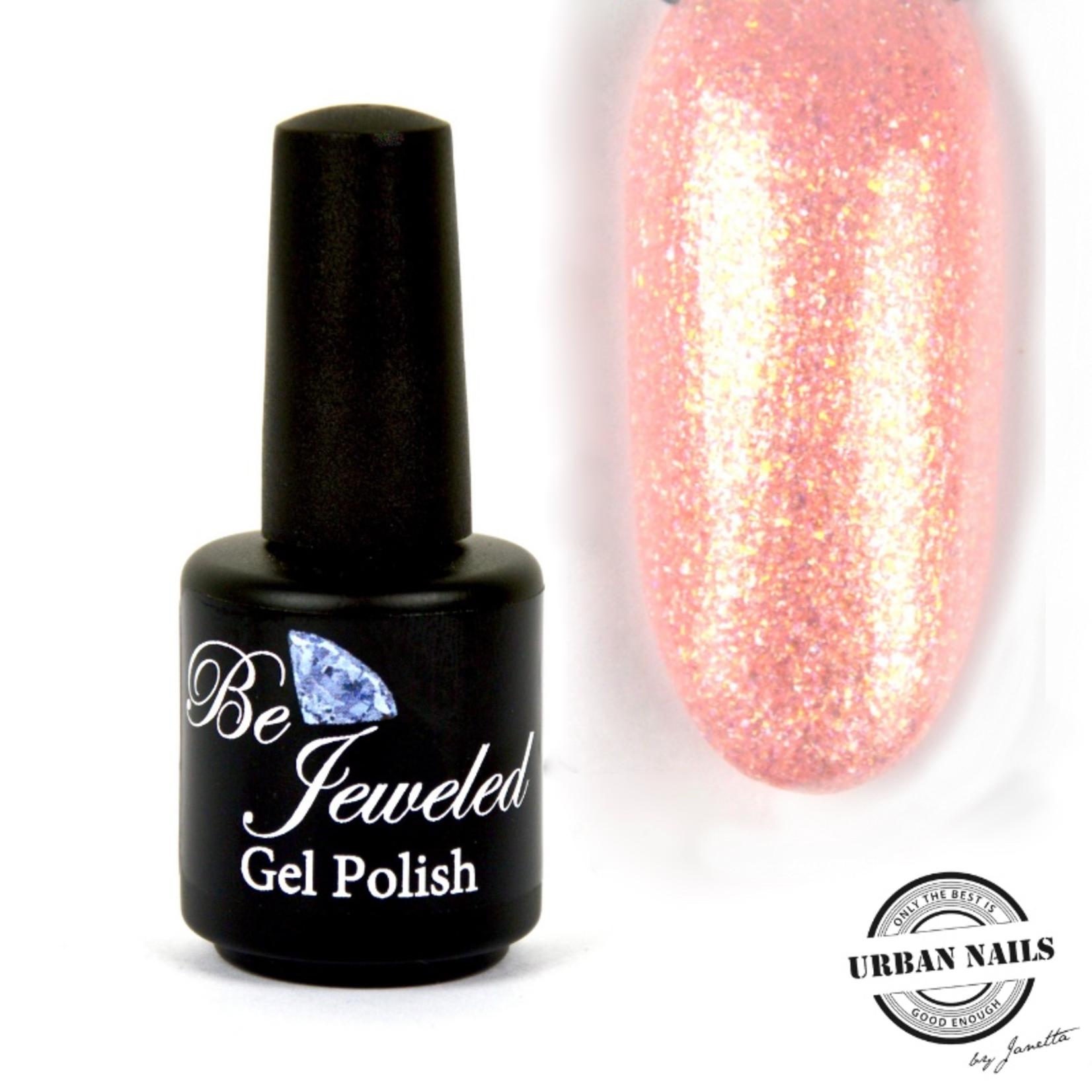 Urban Nails Be Jeweled Gelpolish 178 Perzik Shimmer