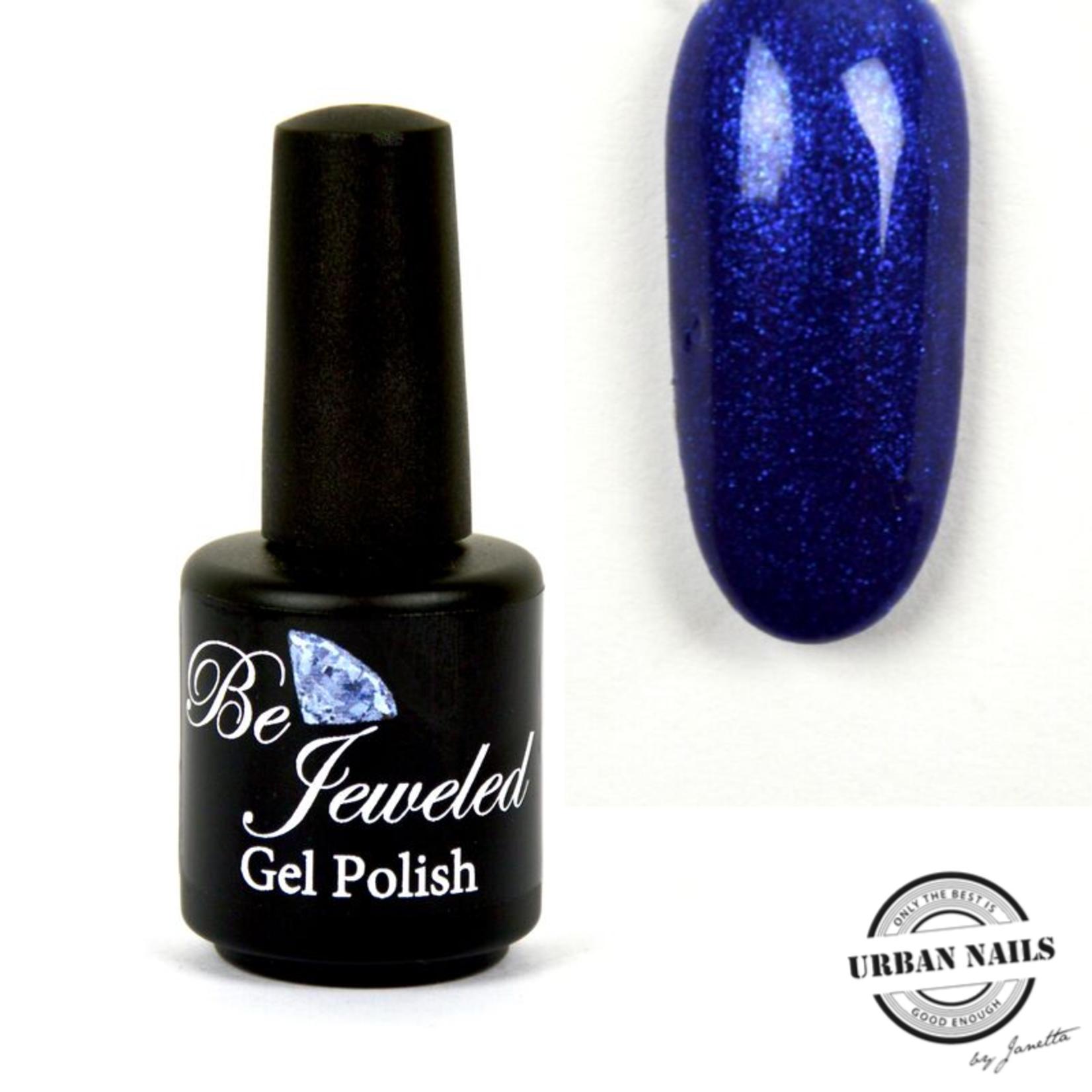 Urban Nails Be Jeweled Gelpolish 182 Donker Blauw Shimmer