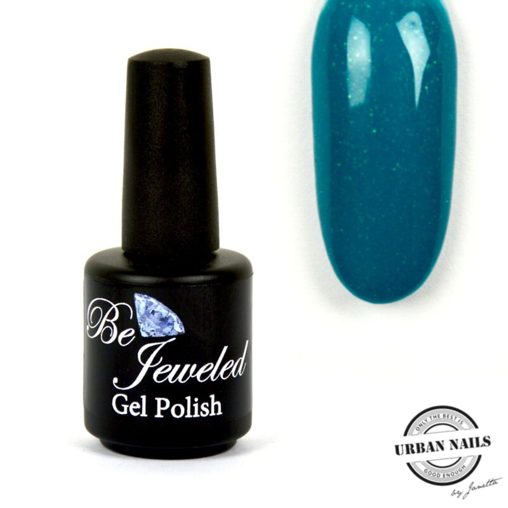 Urban Nails Be Jeweled Gelpolish 183 Zeeblauw Shimmer