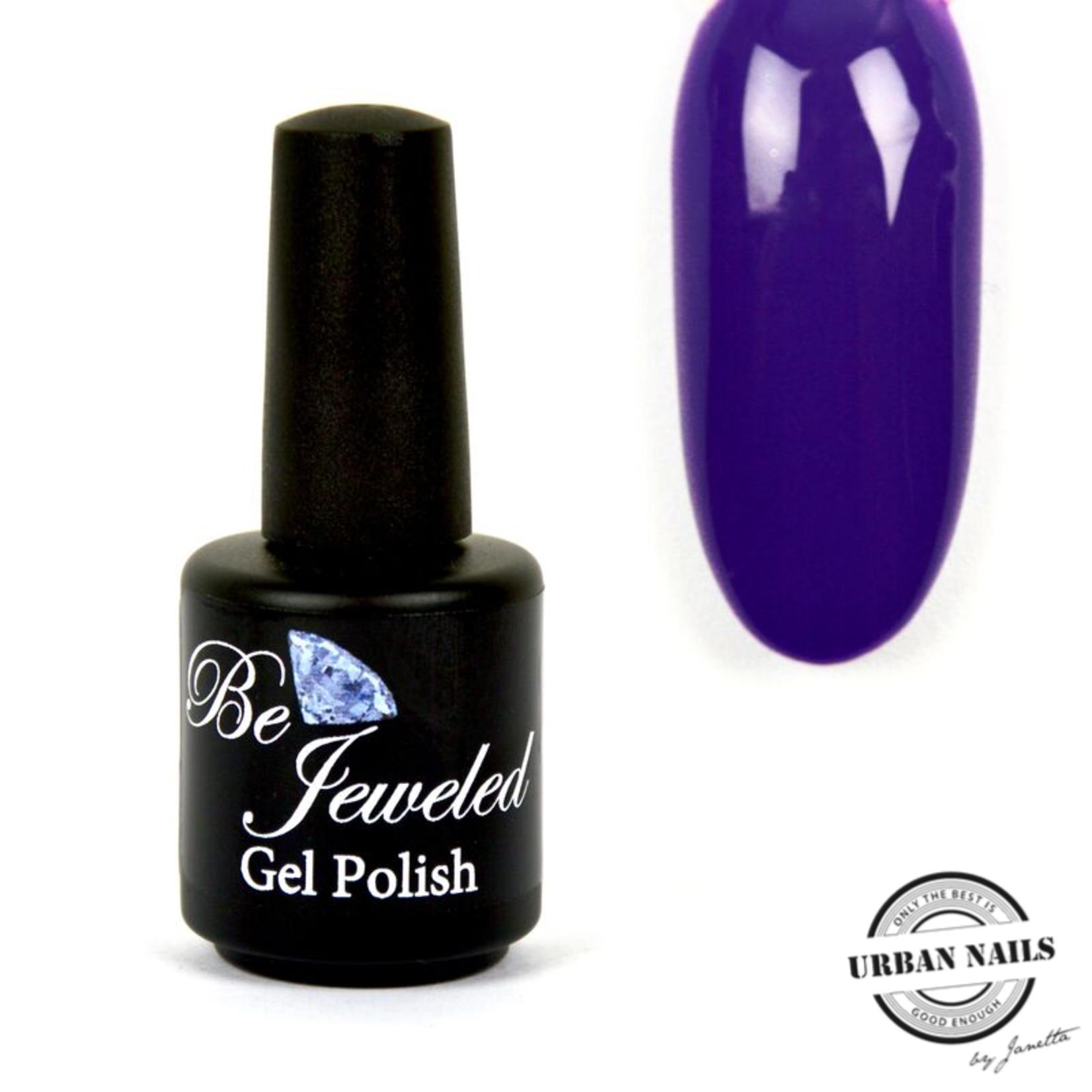 Urban Nails Be Jeweled Gelpolish 184 Blauw Paars