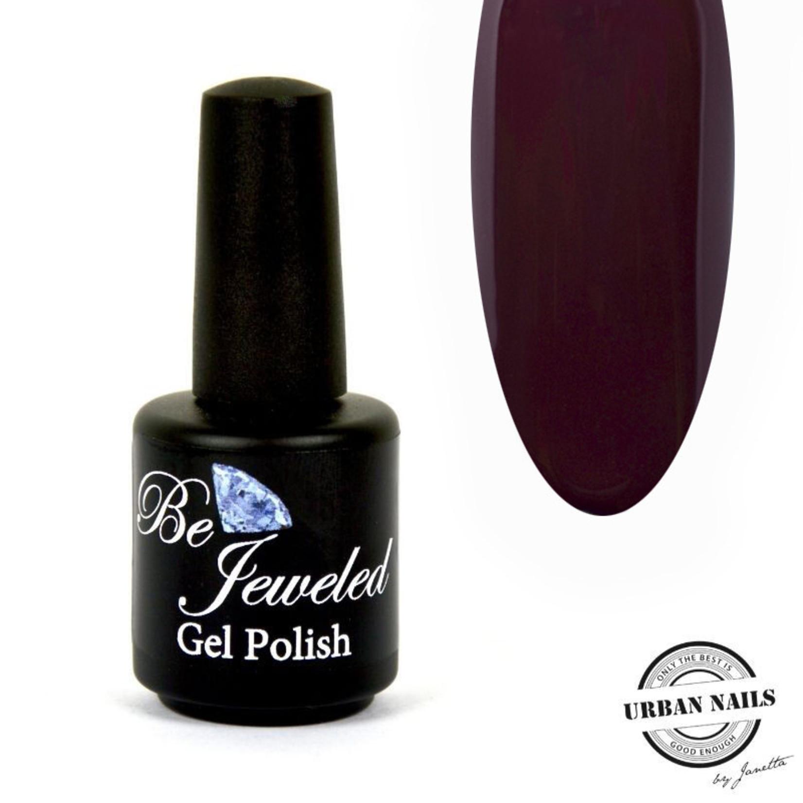 Urban Nails Be Jeweled Gelpolish 191 Donker Bordeaux