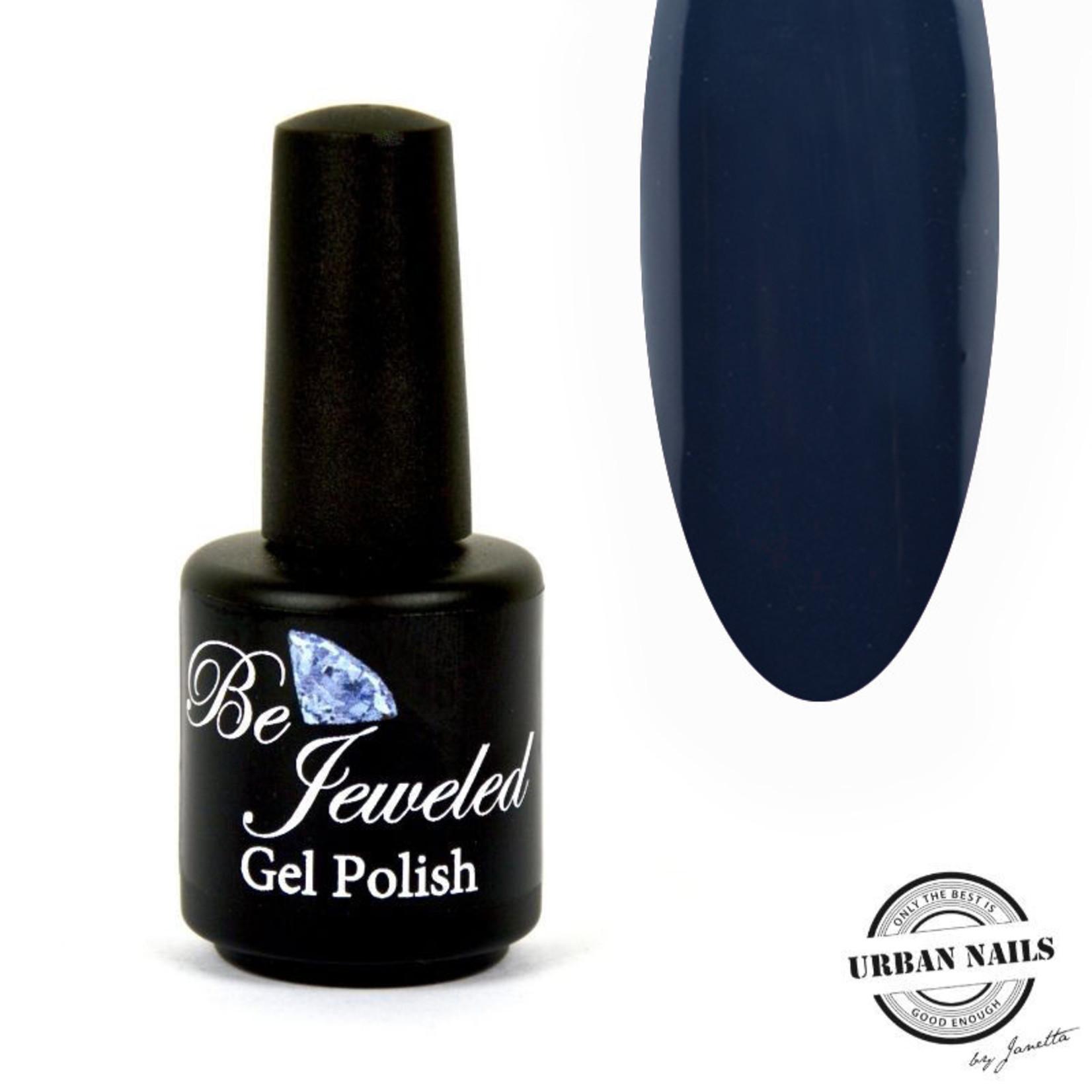 Urban Nails Be Jeweled Gelpolish 192 Donker Grijs Blauw